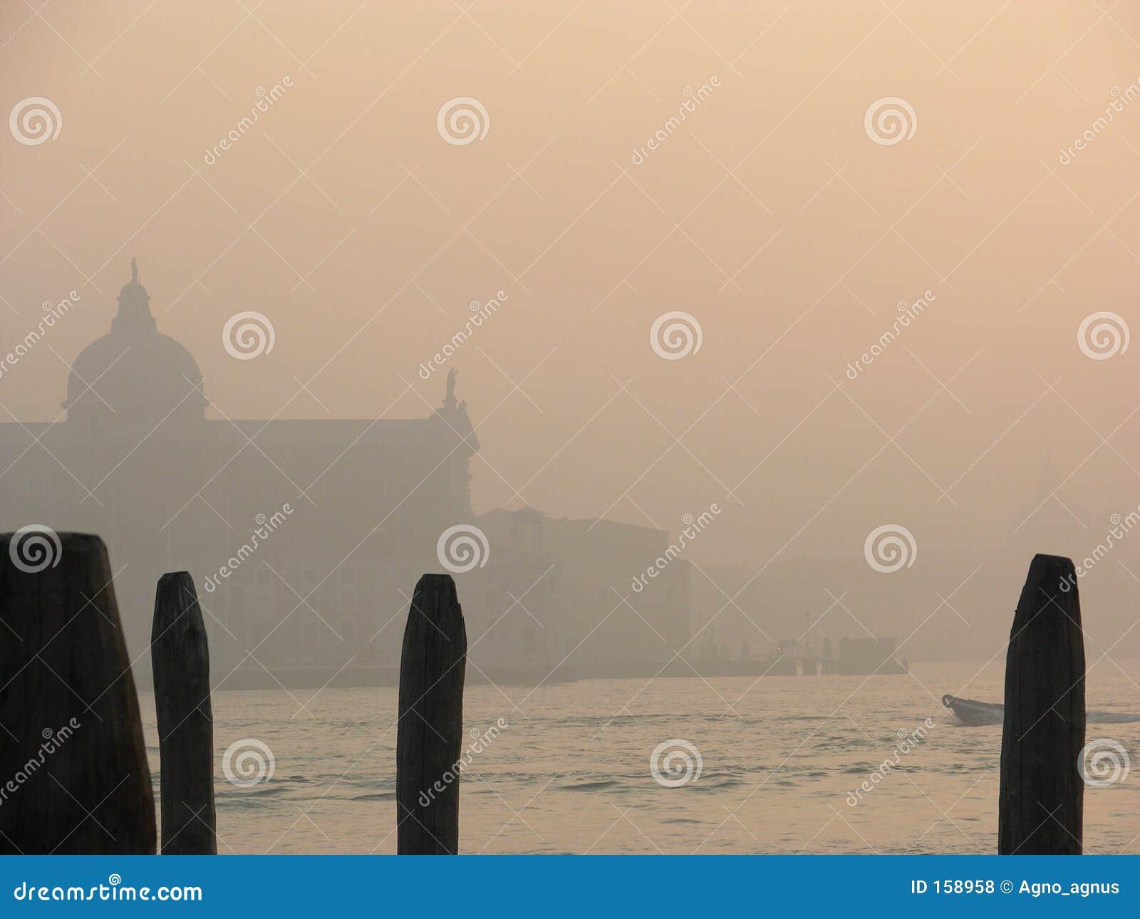 日有雾的giorgio s威尼斯