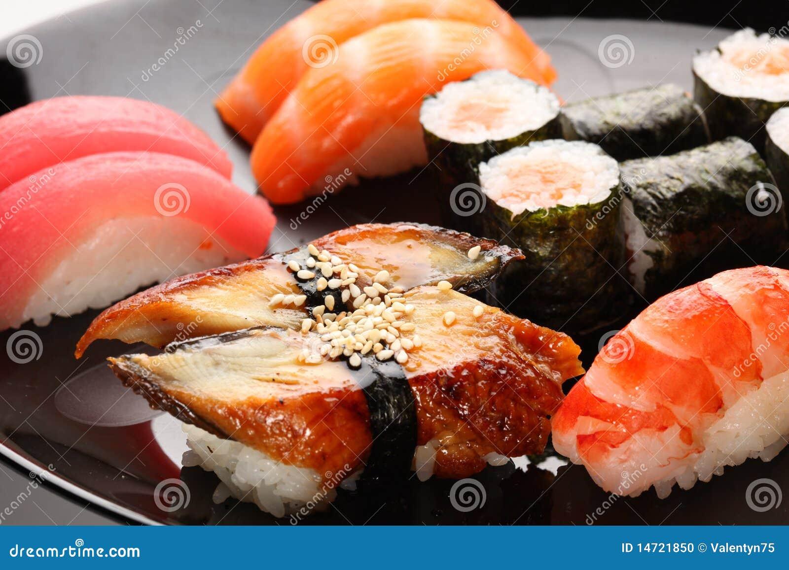 日本人集合寿司