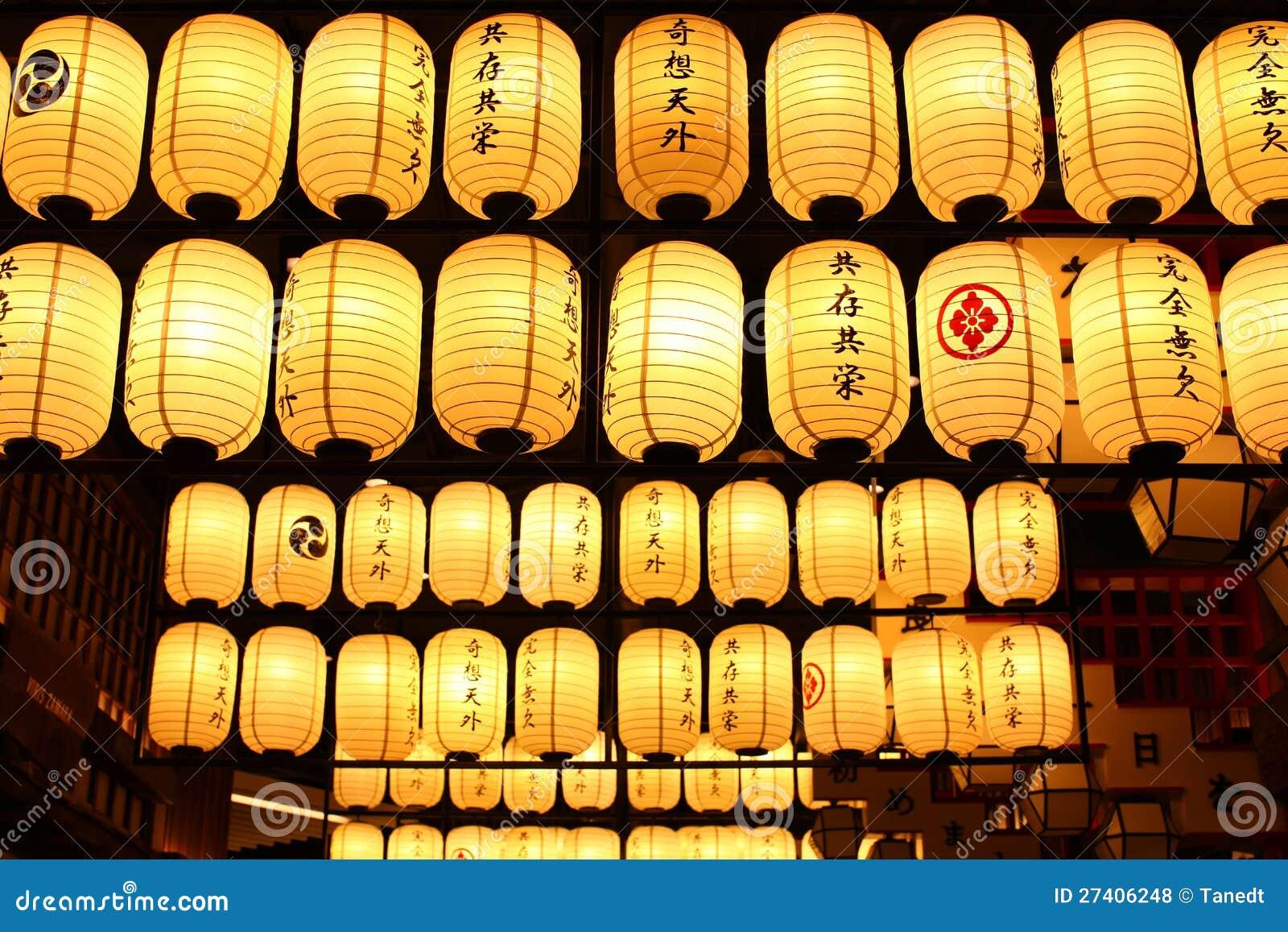 日本灯笼。