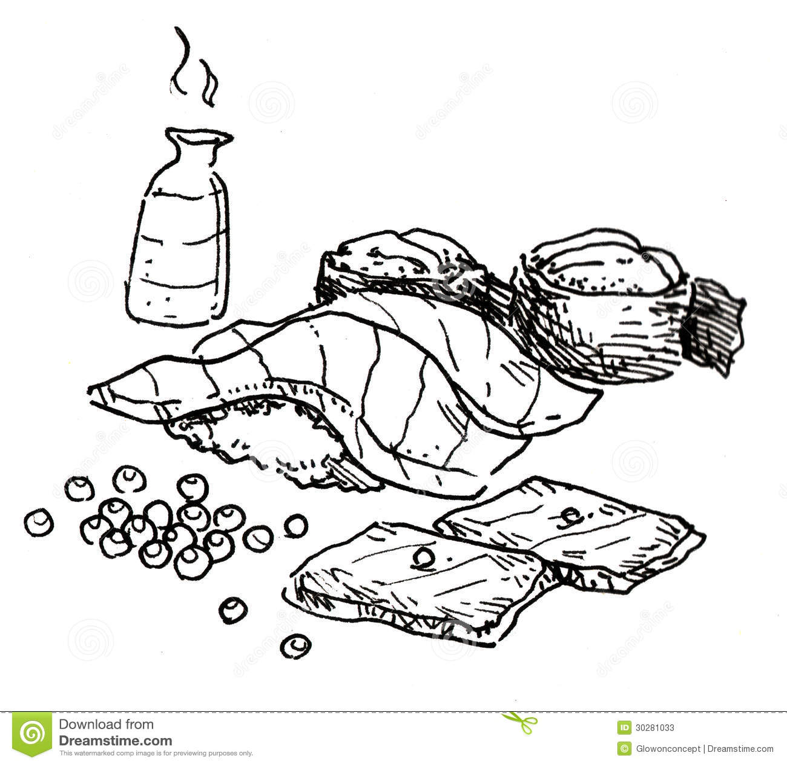 手拉日本的食物