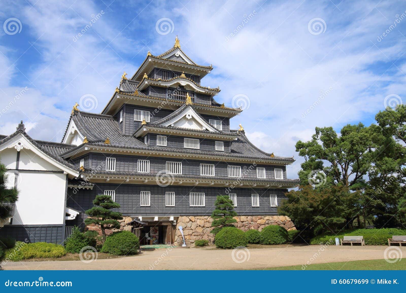 日本:冈山城堡