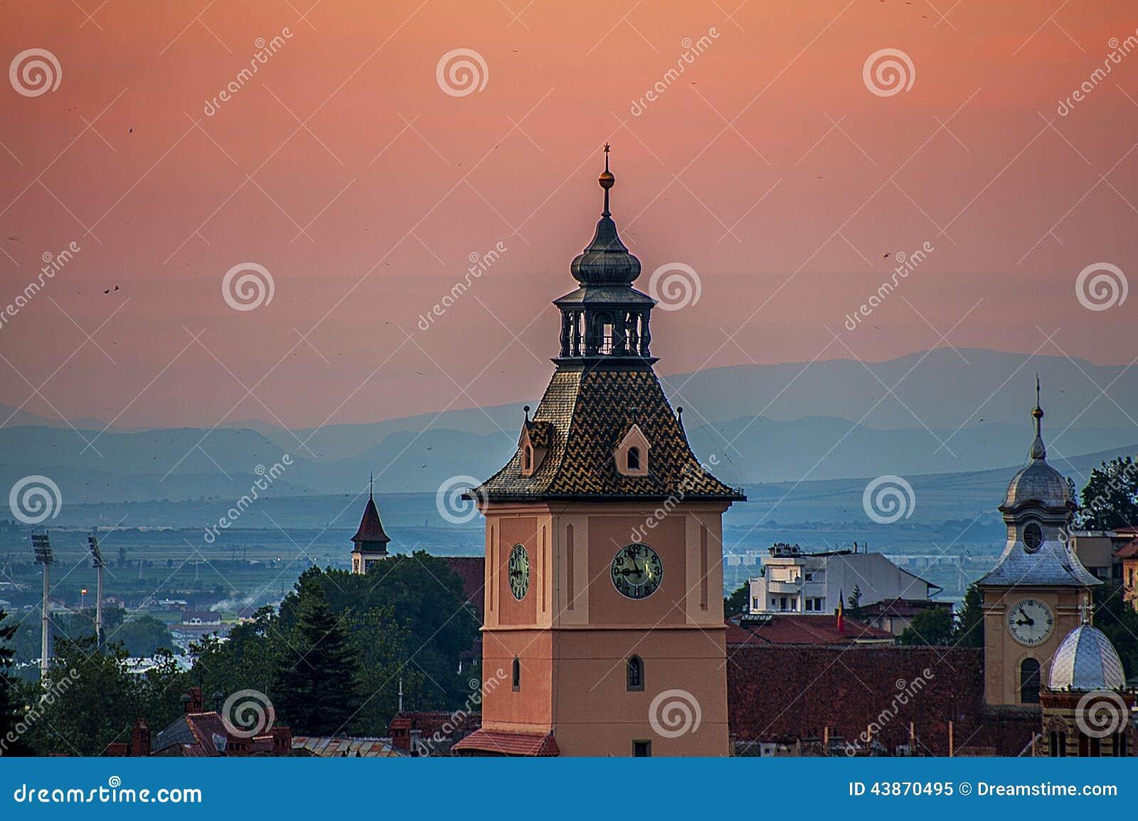 日落在布拉索夫