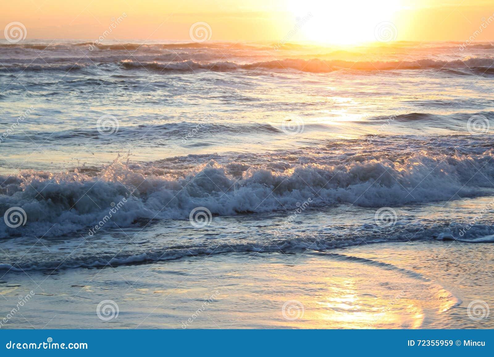 日落的海运