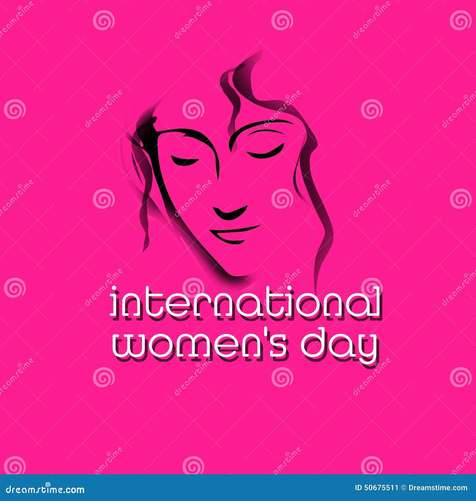 Download 日s妇女 库存例证. 插画 包括有 庆祝, 高雅, 方面, 阴物, 问候, 抽象, 成人, 幸福, 妇女 - 50675511