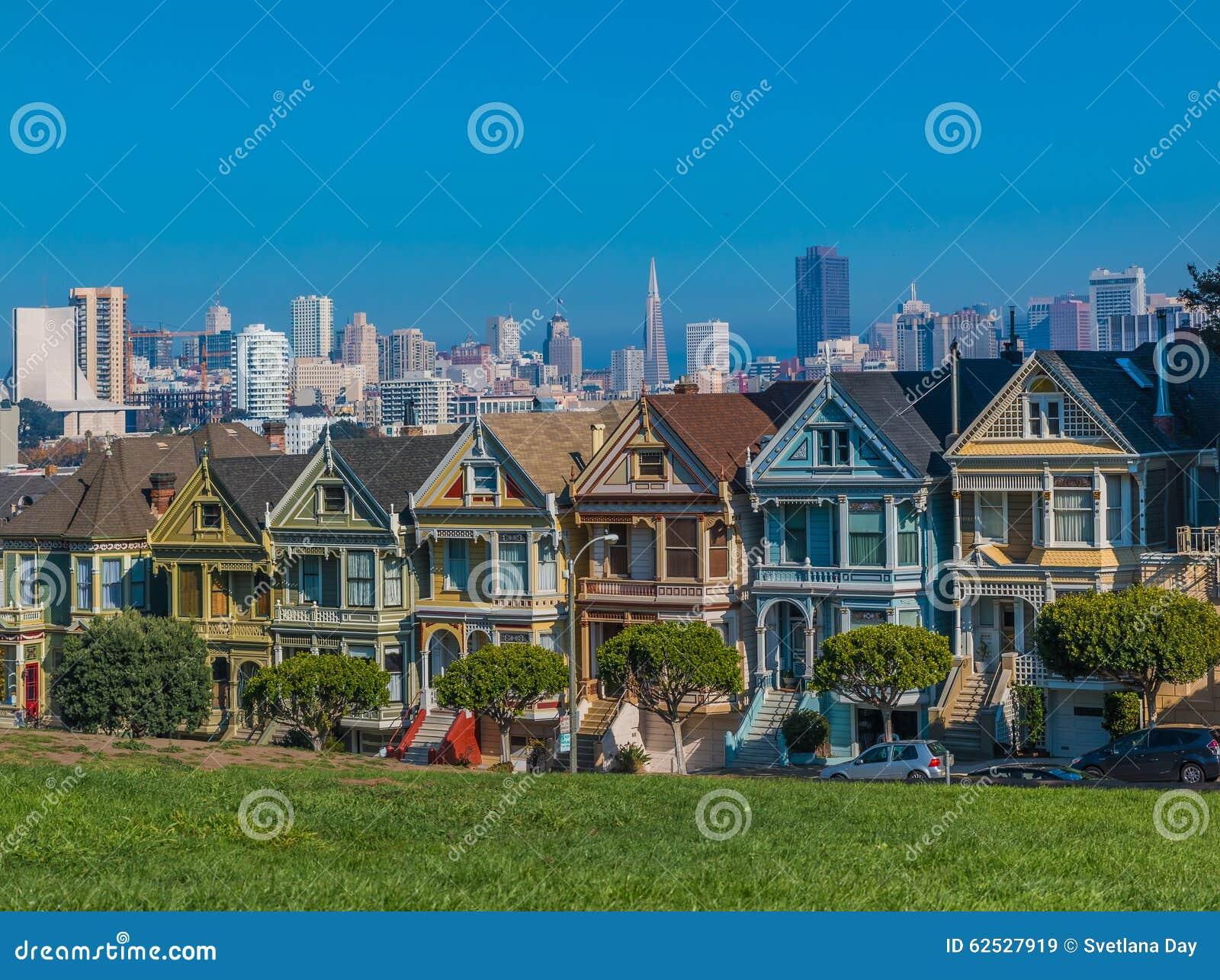 旧金山的被绘的夫人