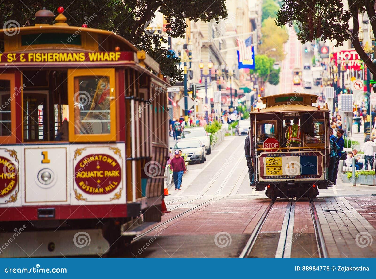 旧金山缆车