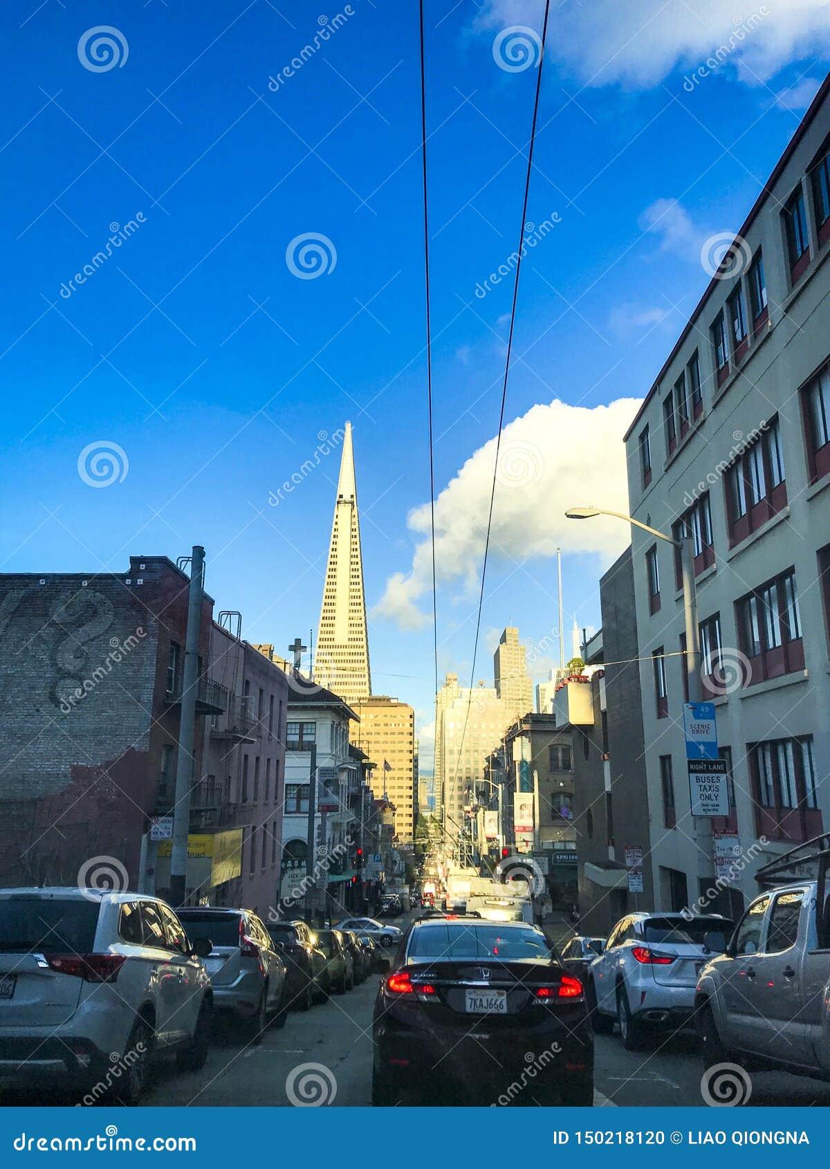 旧金山都市风景