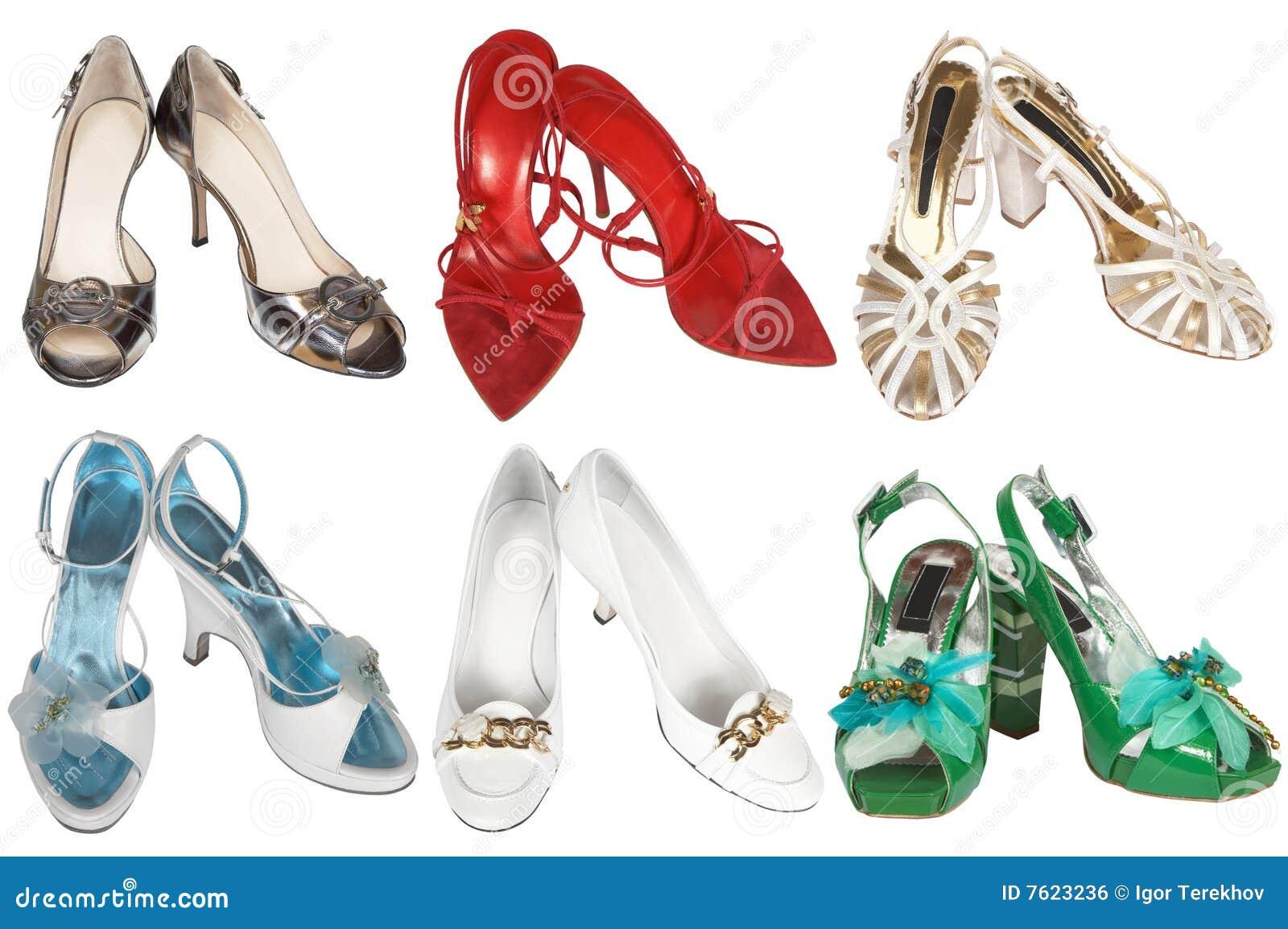 时兴的现代鞋子