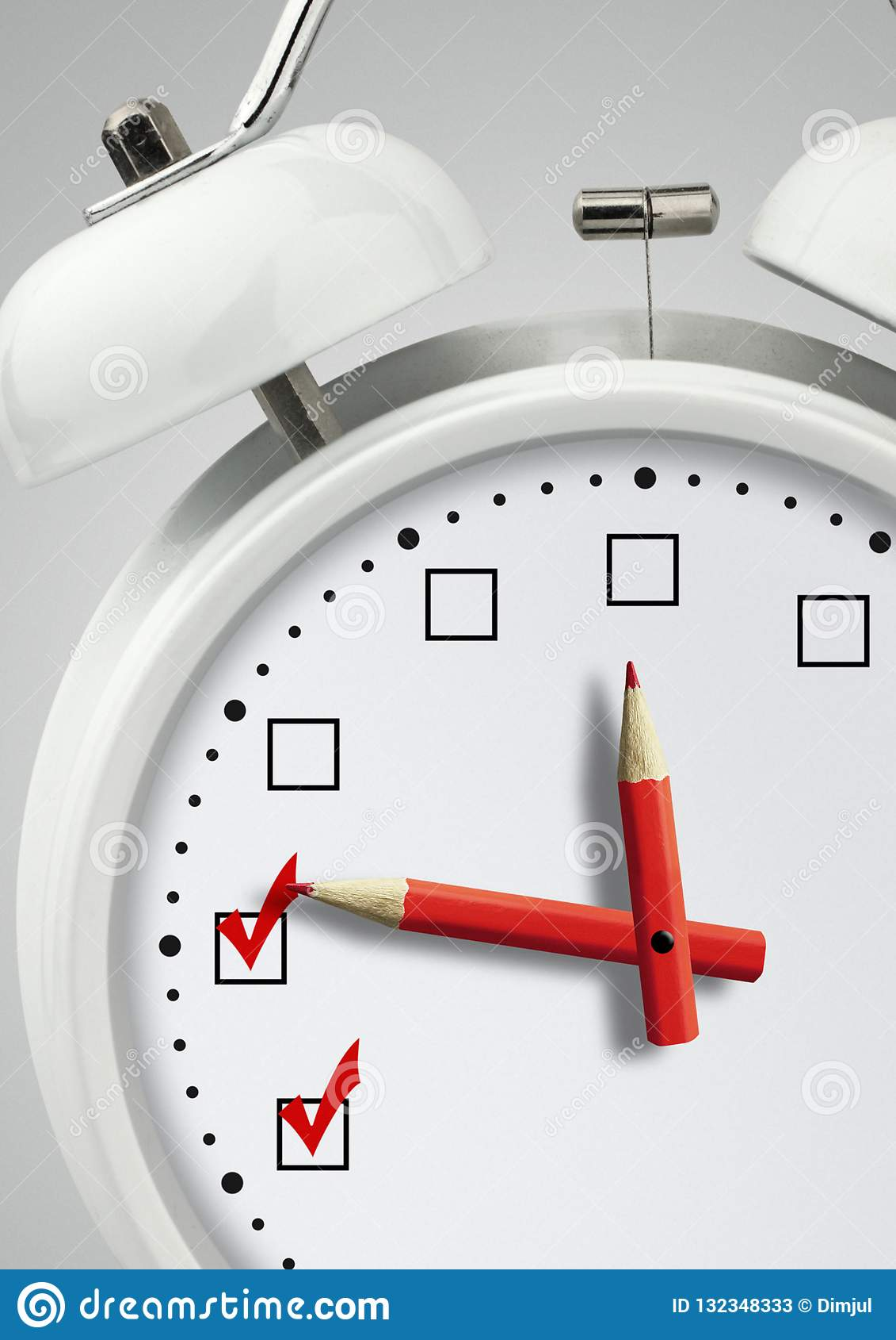 时刻做,概念,有校验标志的时钟