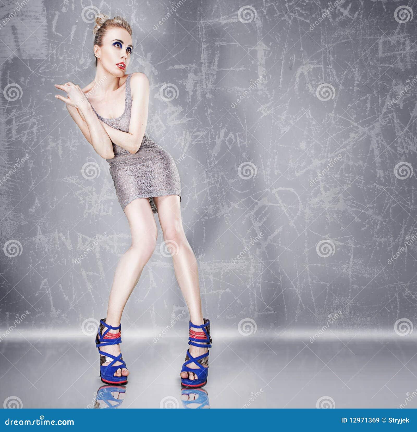 时装模特儿