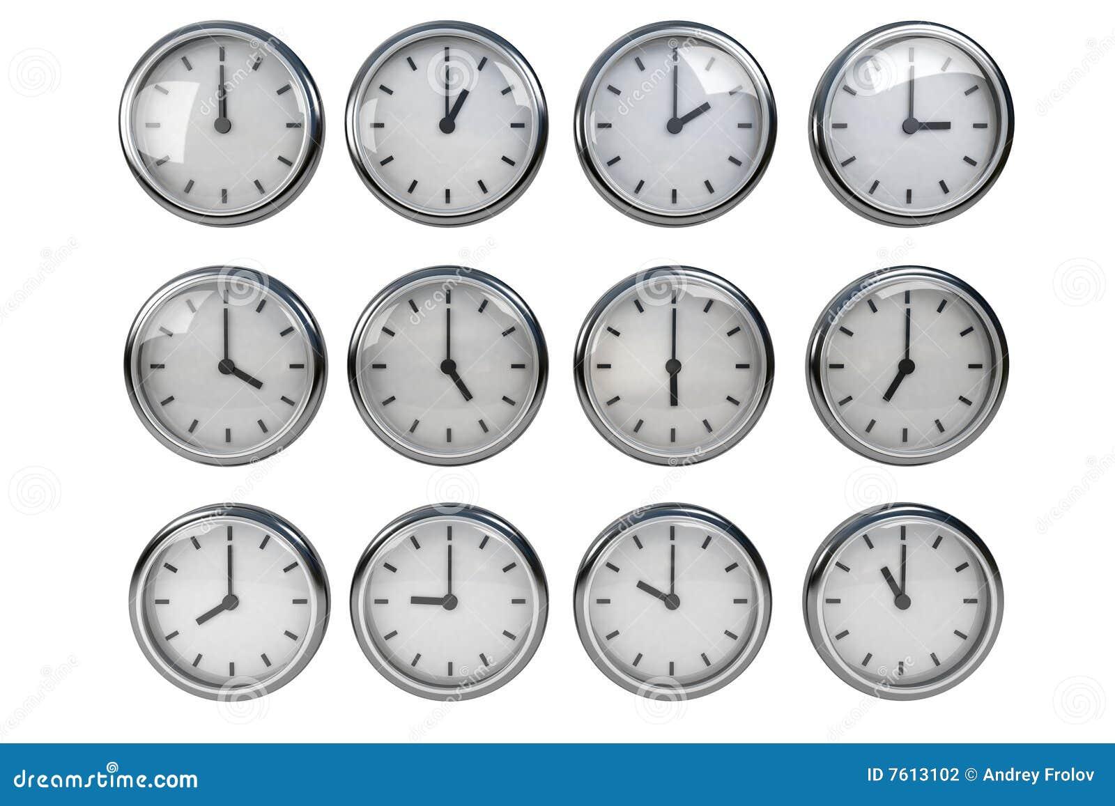 时钟另外时间