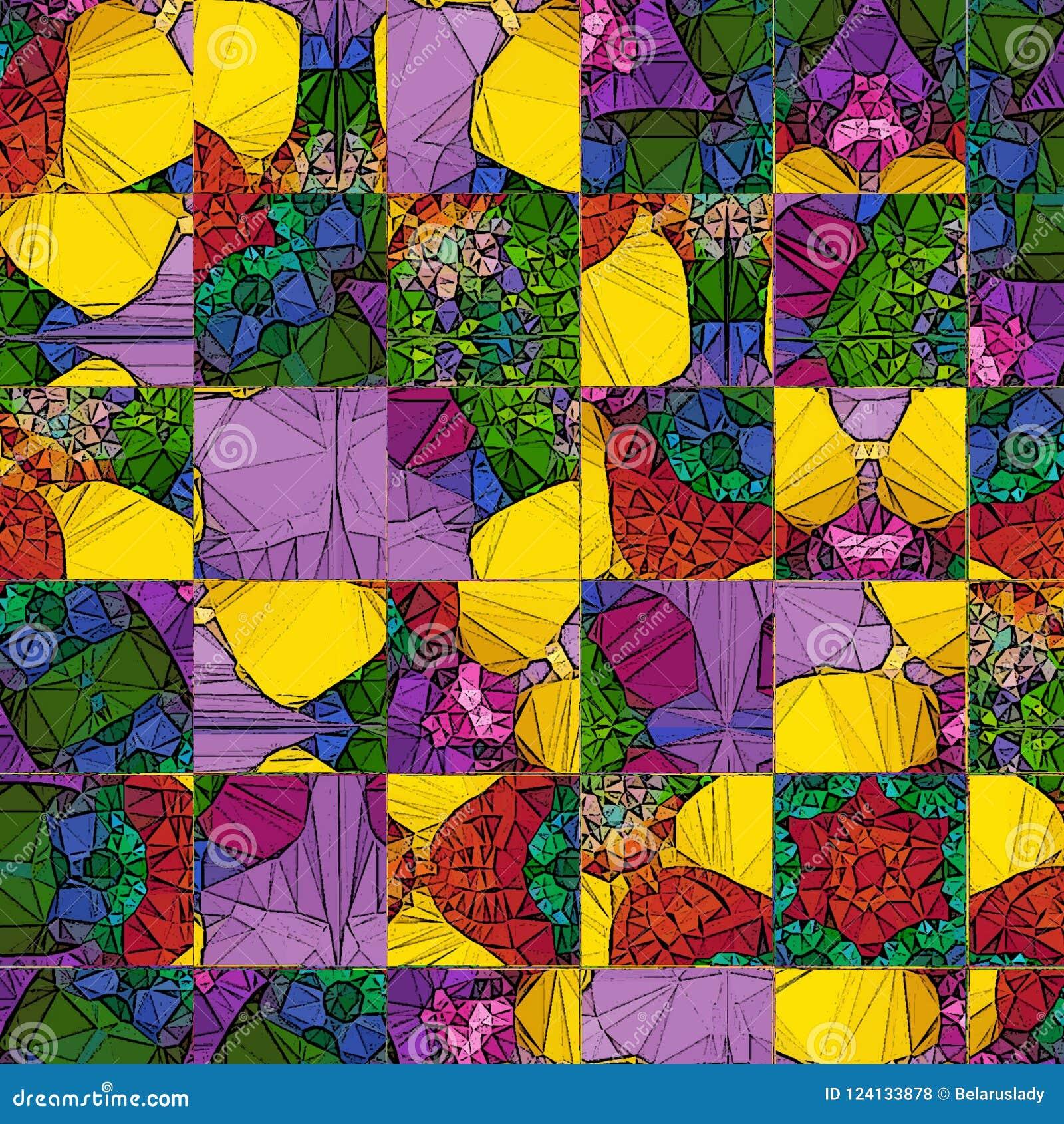 时髦正方形,任何目的了不起的设计 透明彩虹集合 几何方形的抽象背景