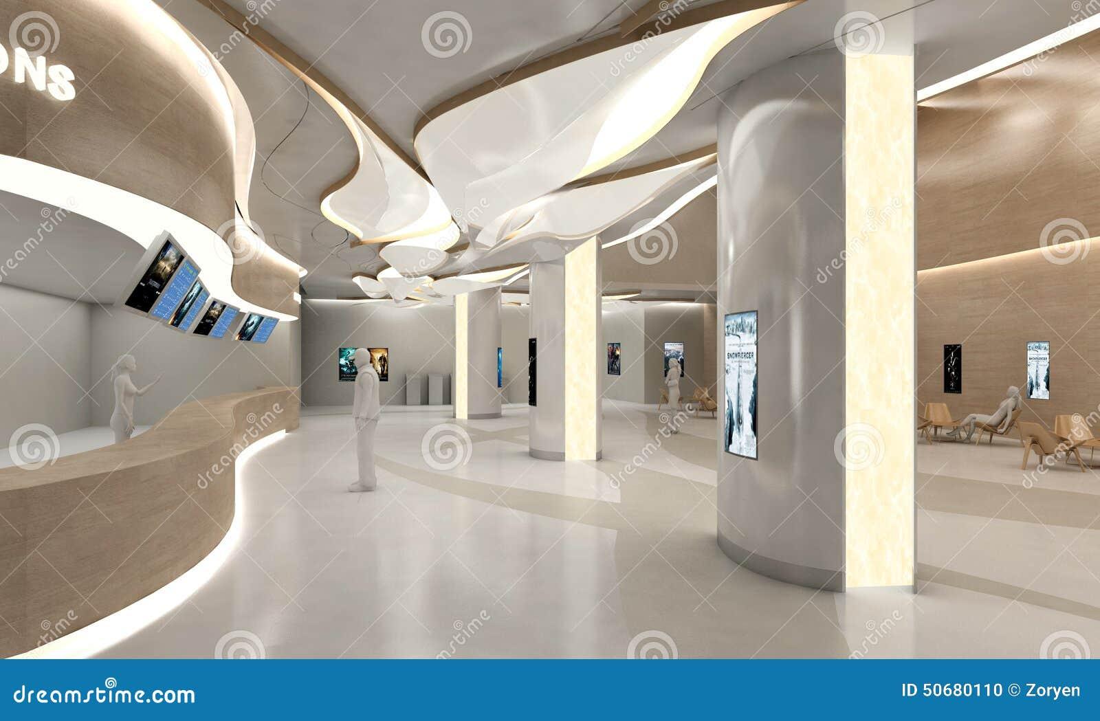 Download 时髦的现代大厦大厅 库存照片. 图片 包括有 拱道, 服务台, 表示, 内部, 里面, 视觉, 弯曲, 布琼布拉 - 50680110