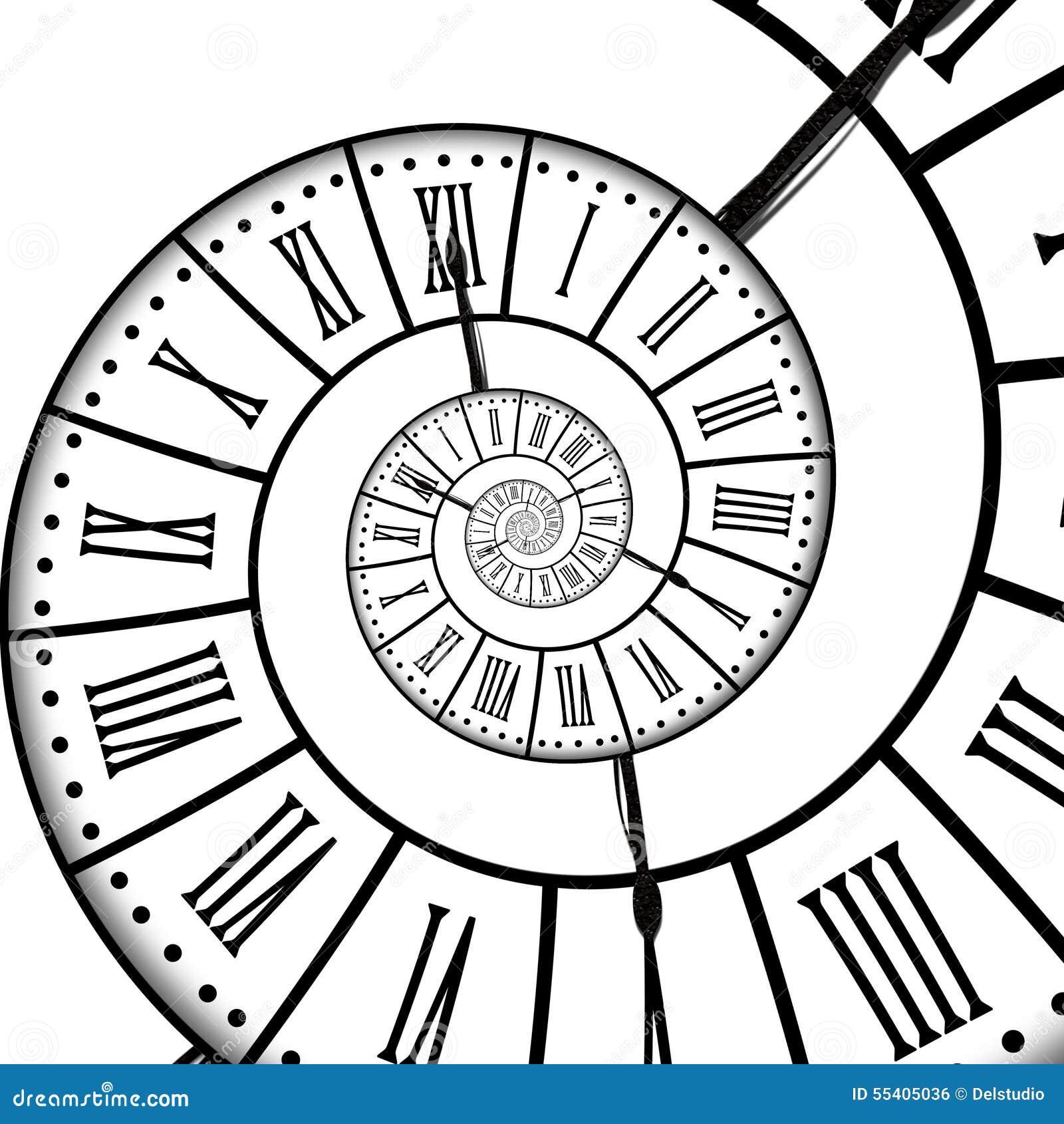 时间螺旋,隔绝在白色