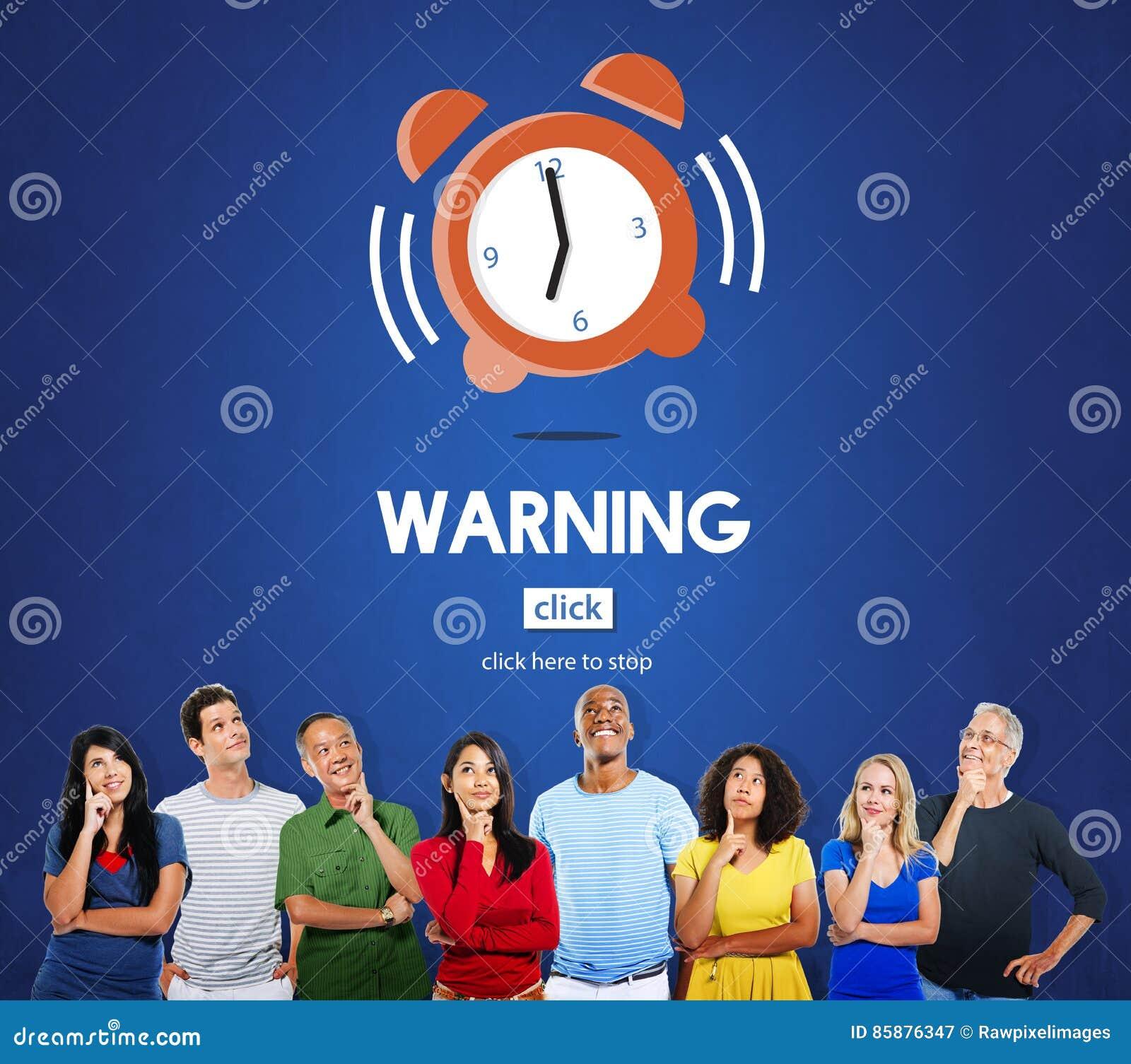 时间警报最后期限读秒概念