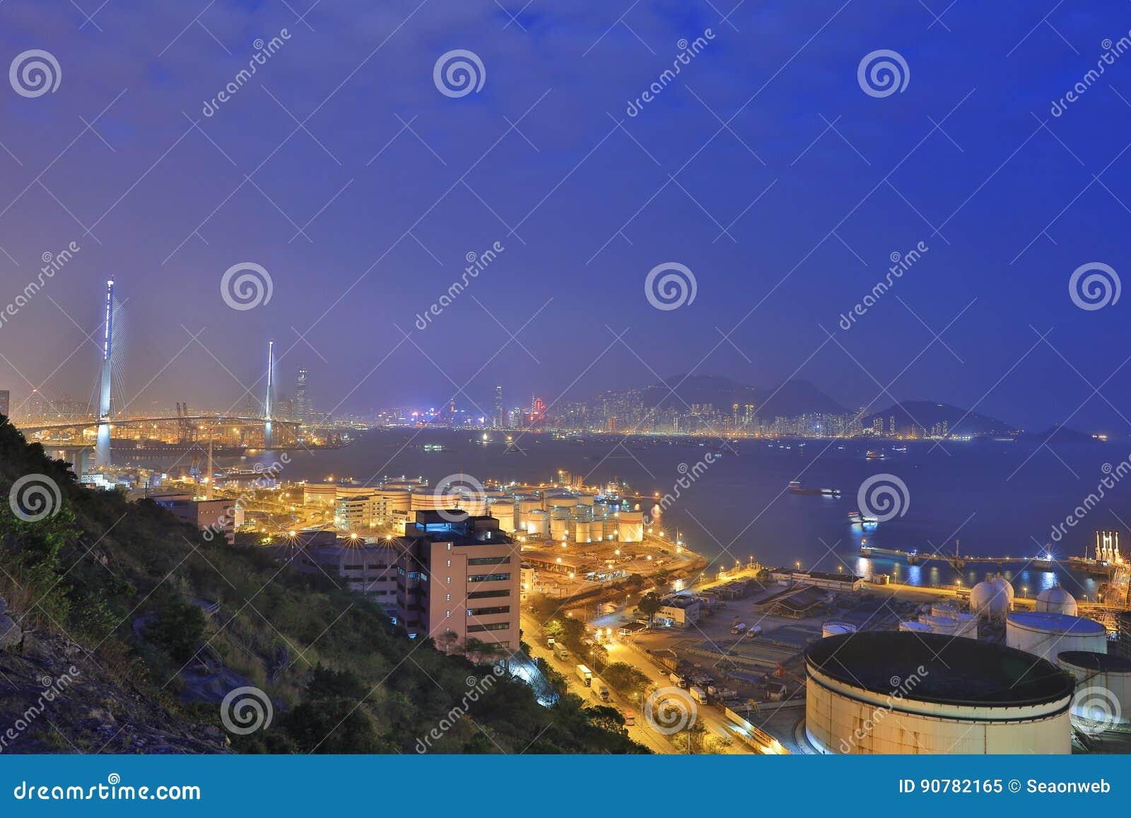 昂船洲大桥,香港2017年