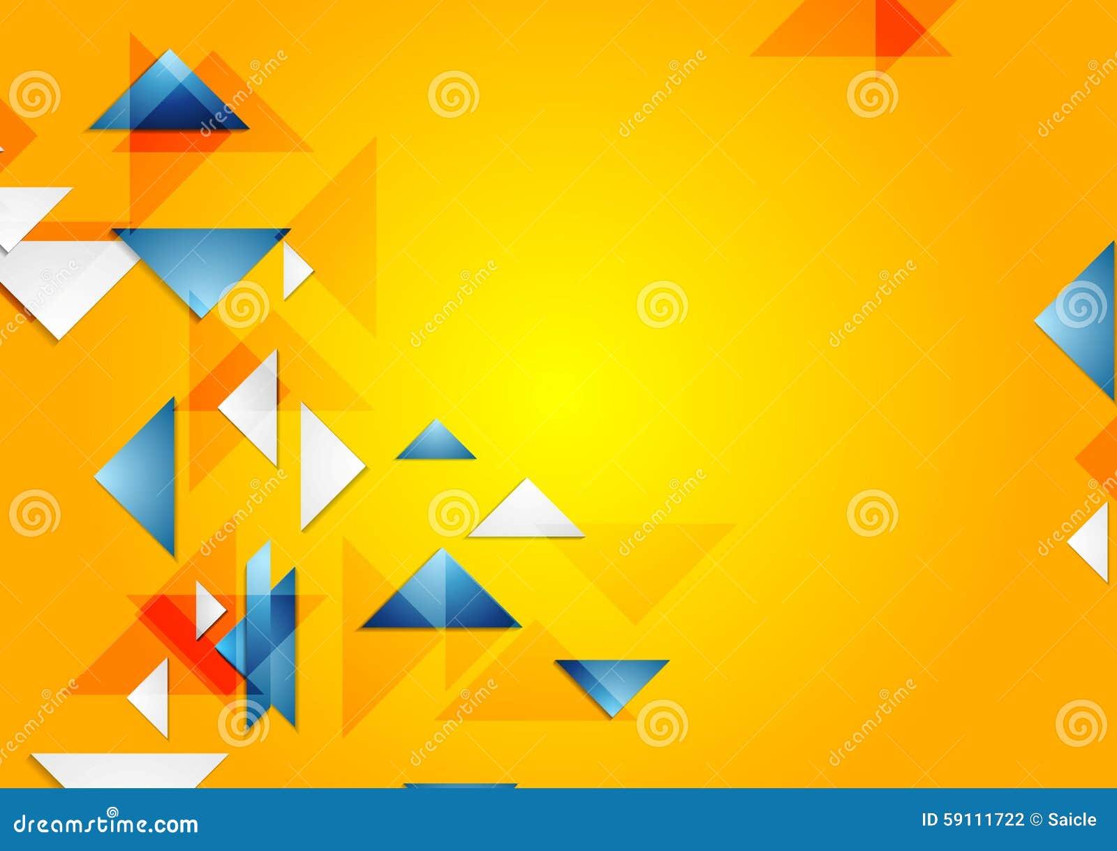 明亮的传染媒介几何背景