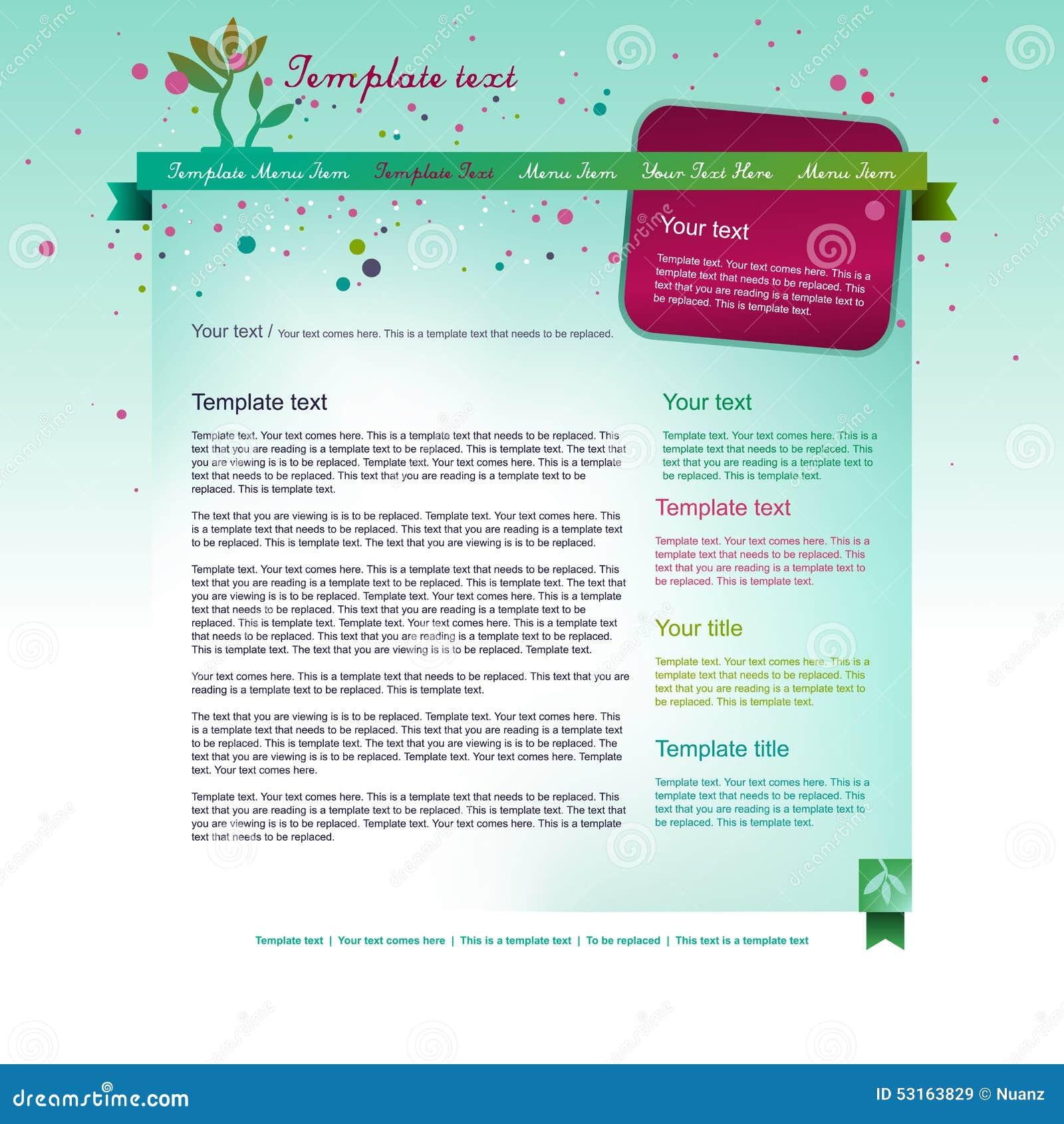 色青片大全网站_明亮的蓝色网站布局设计有花卉背景和五颜六色的倒栽跳水.