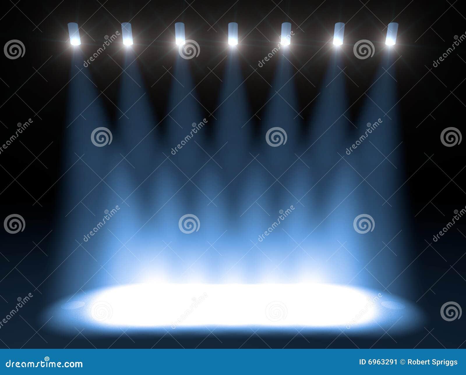 明亮的音乐会阶段