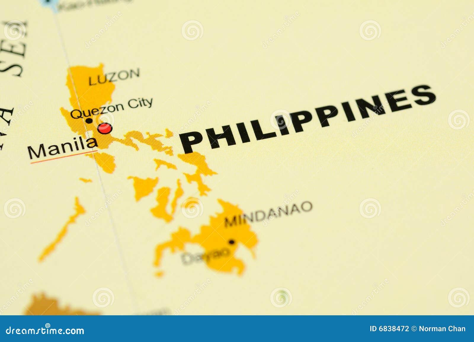 映射菲律宾