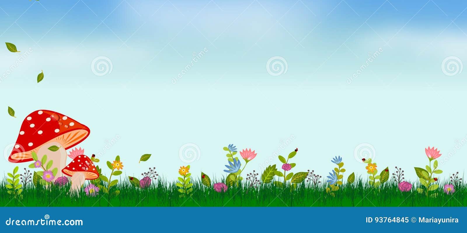 春天夏天背景
