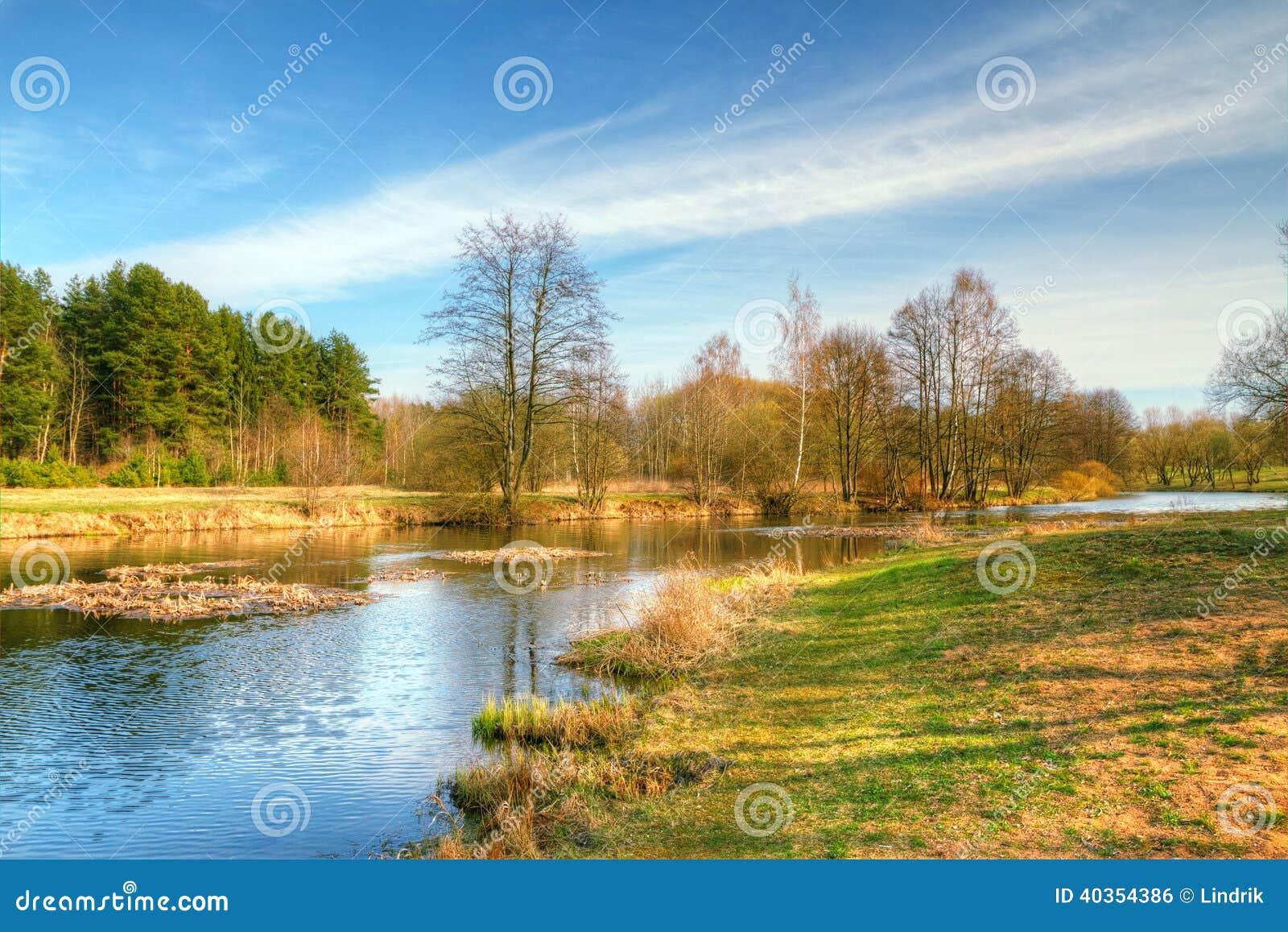 春天风景hdr 风景点在欧洲.