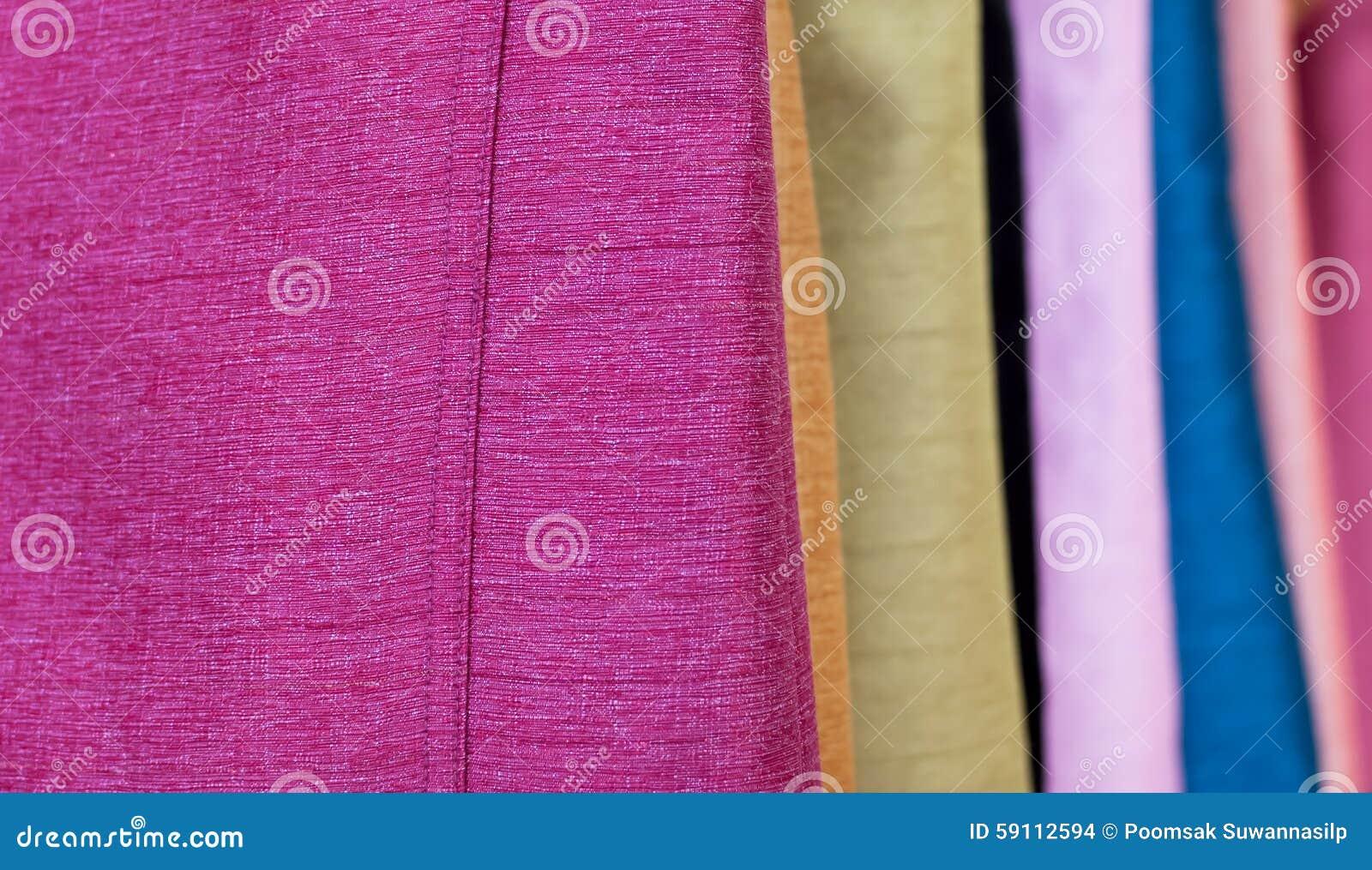 是美丽的多彩多姿的镶边丝绸