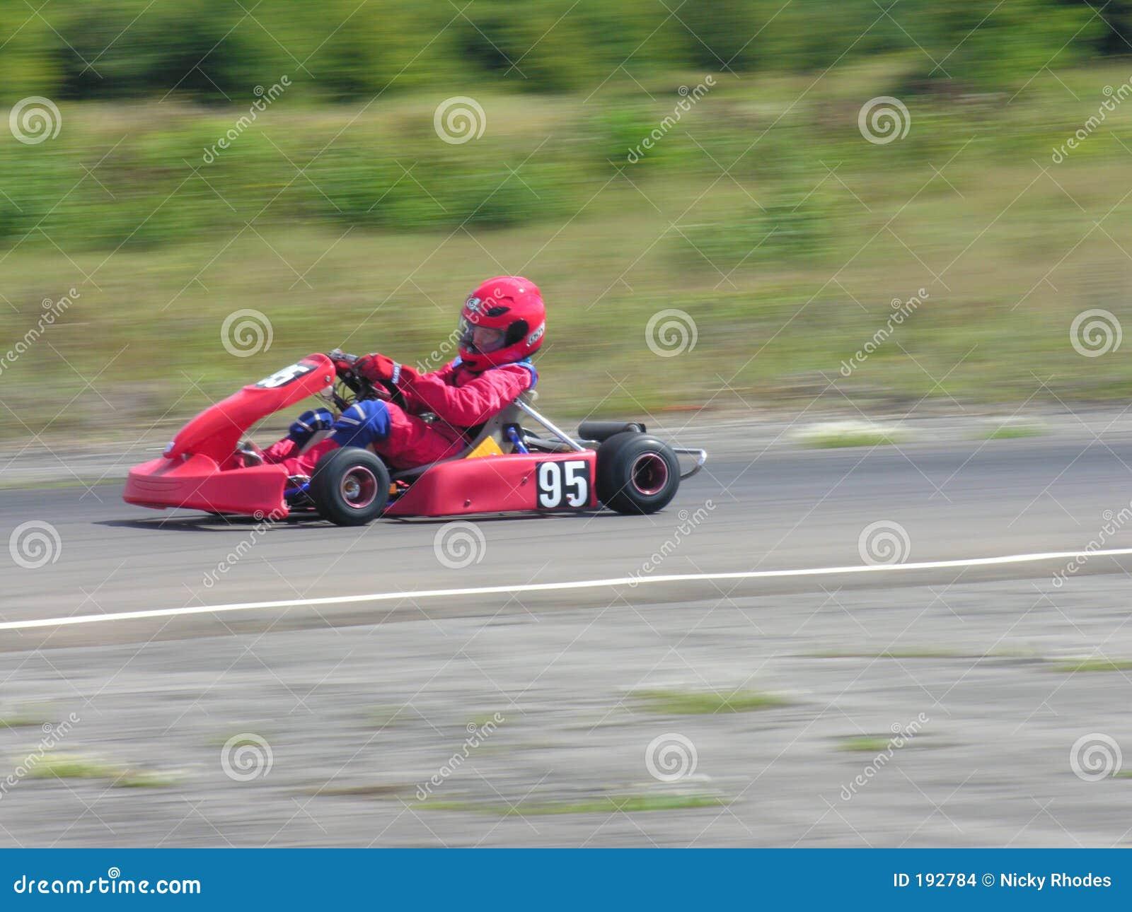 是kart红色
