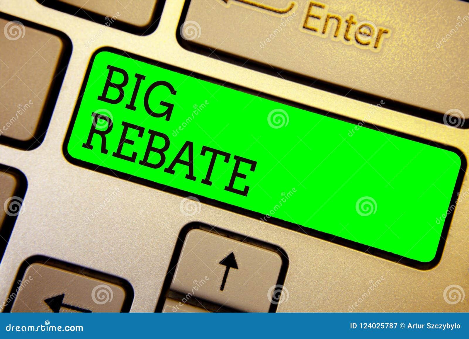 显示大折扣的文字笔记 陈列可能得到的巨大的奖励的企业照片您允诺了到一个特别电视节目预告键盘