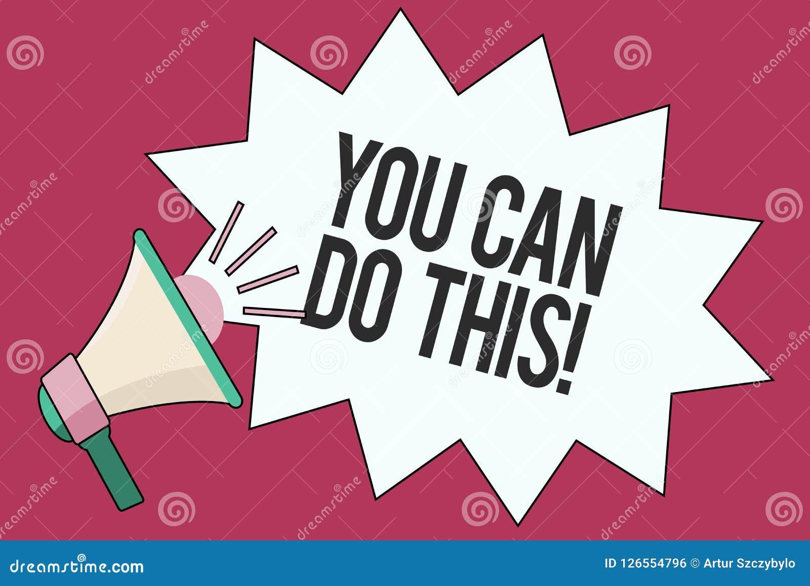 显示您的文本标志可能做此 概念性照片渴望和自愿克服挑战在生活中