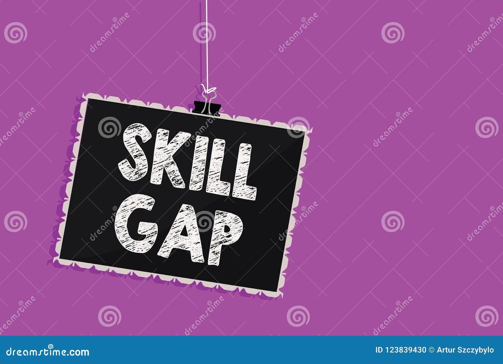 显示技巧空白的文本标志 提到知识垂悬的黑板messag的人的弱点或局限的概念性照片