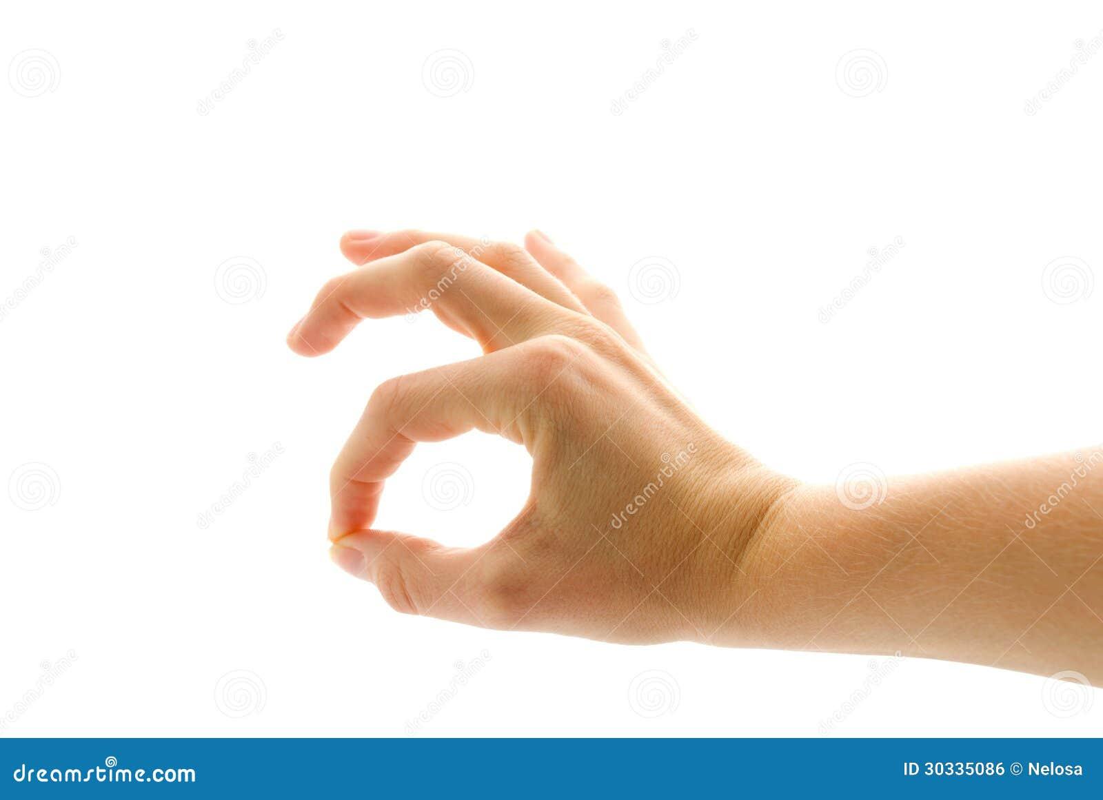 显示的手好
