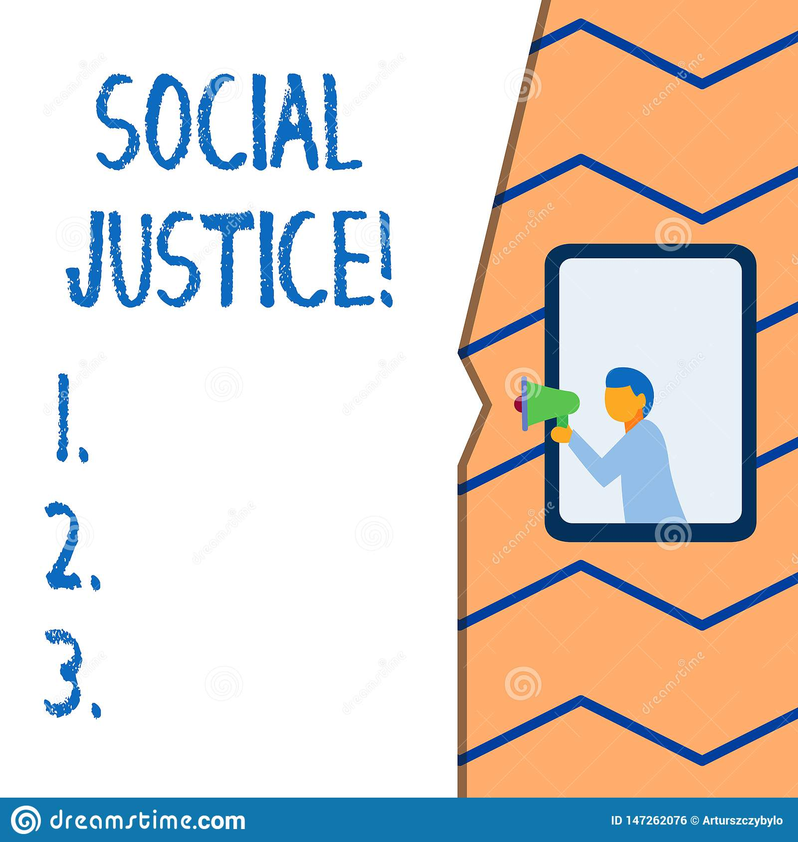 显示社会正义的概念性手文字 对财富和特权的企业照片文本等长接入在a内