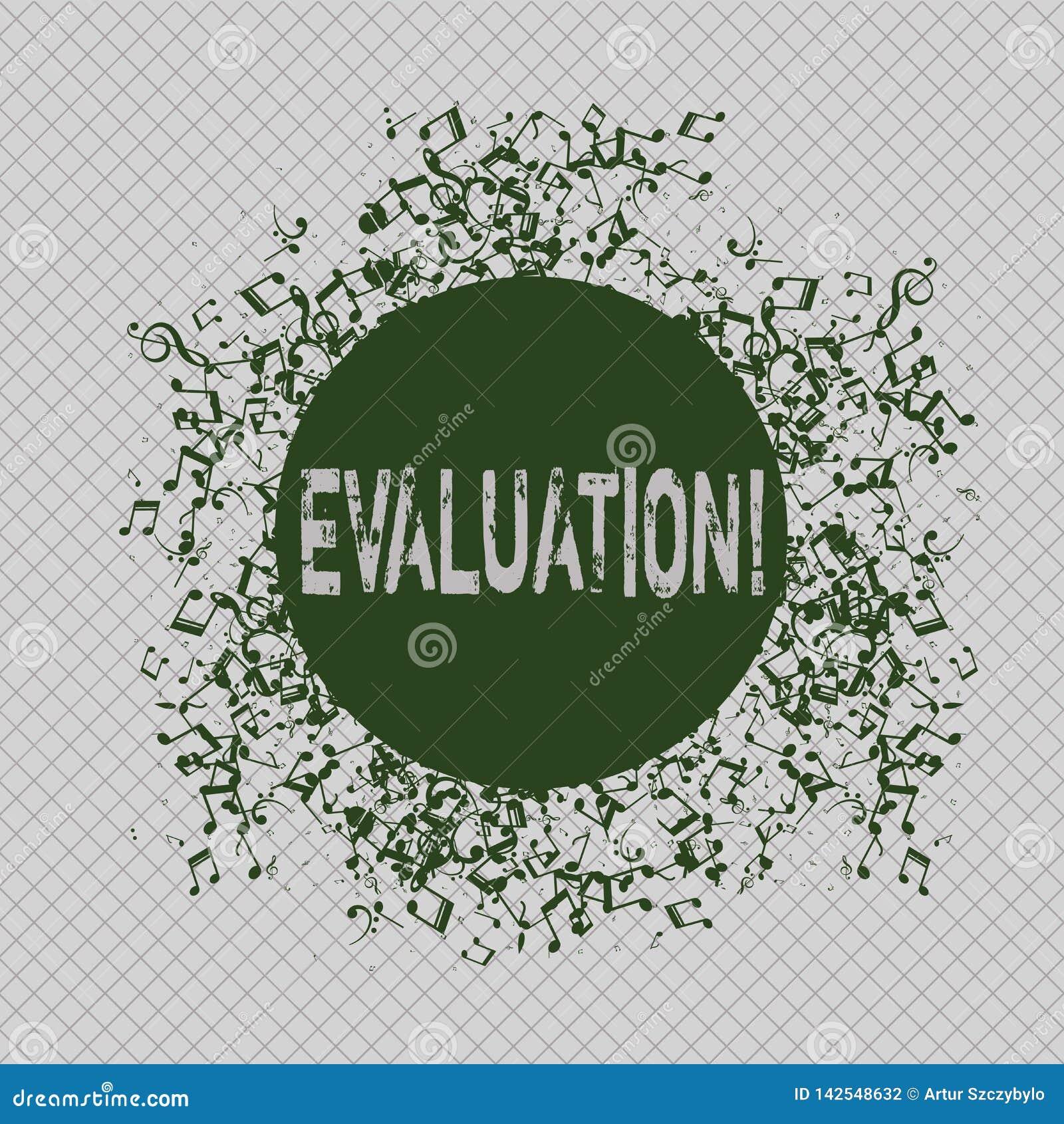 显示评估的文字笔记 企业照片陈列的评断反馈评估质量perforanalysisce