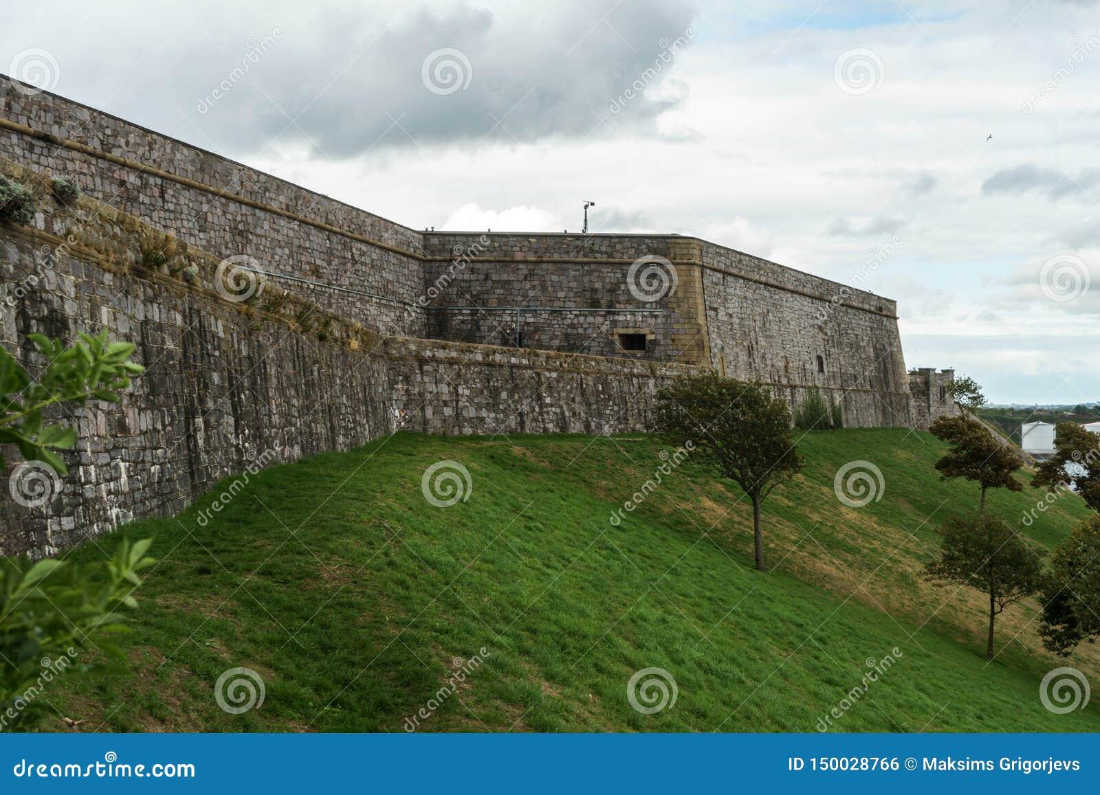普利茅斯城堡,堡垒,德文郡,英国,2018年8月20日