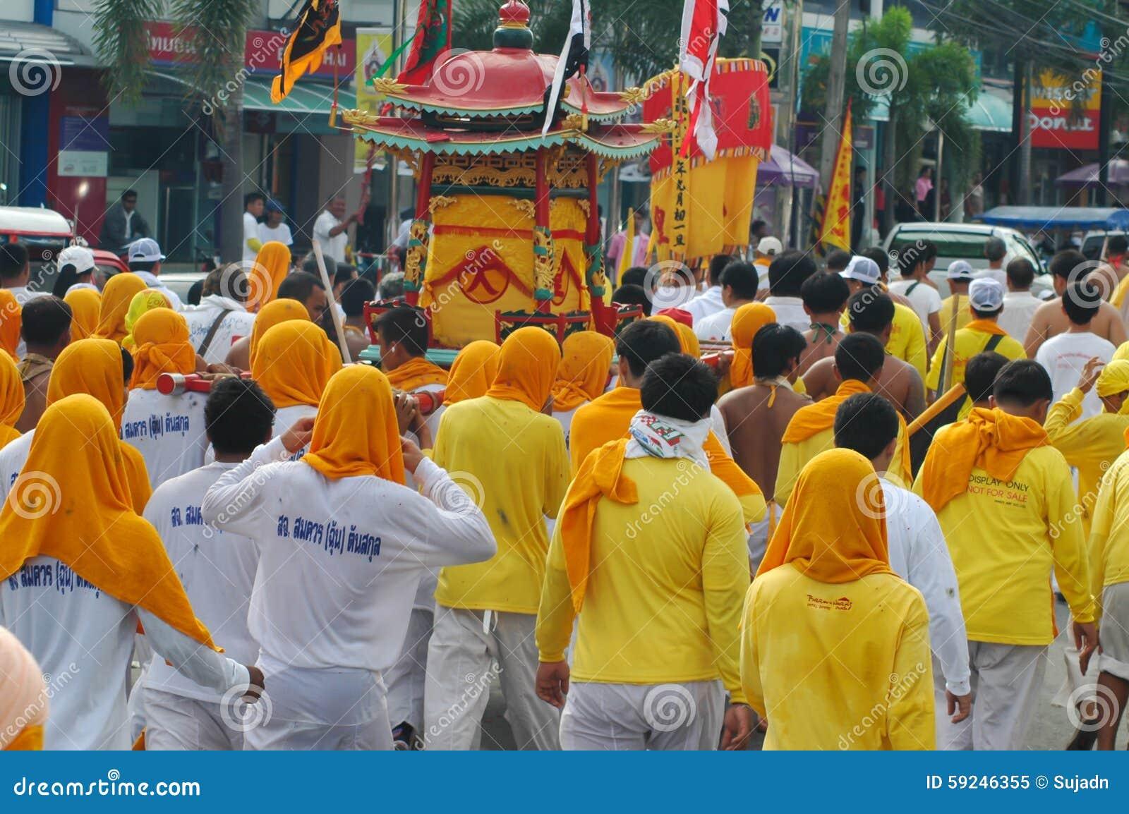 普吉岛素食节日省传统