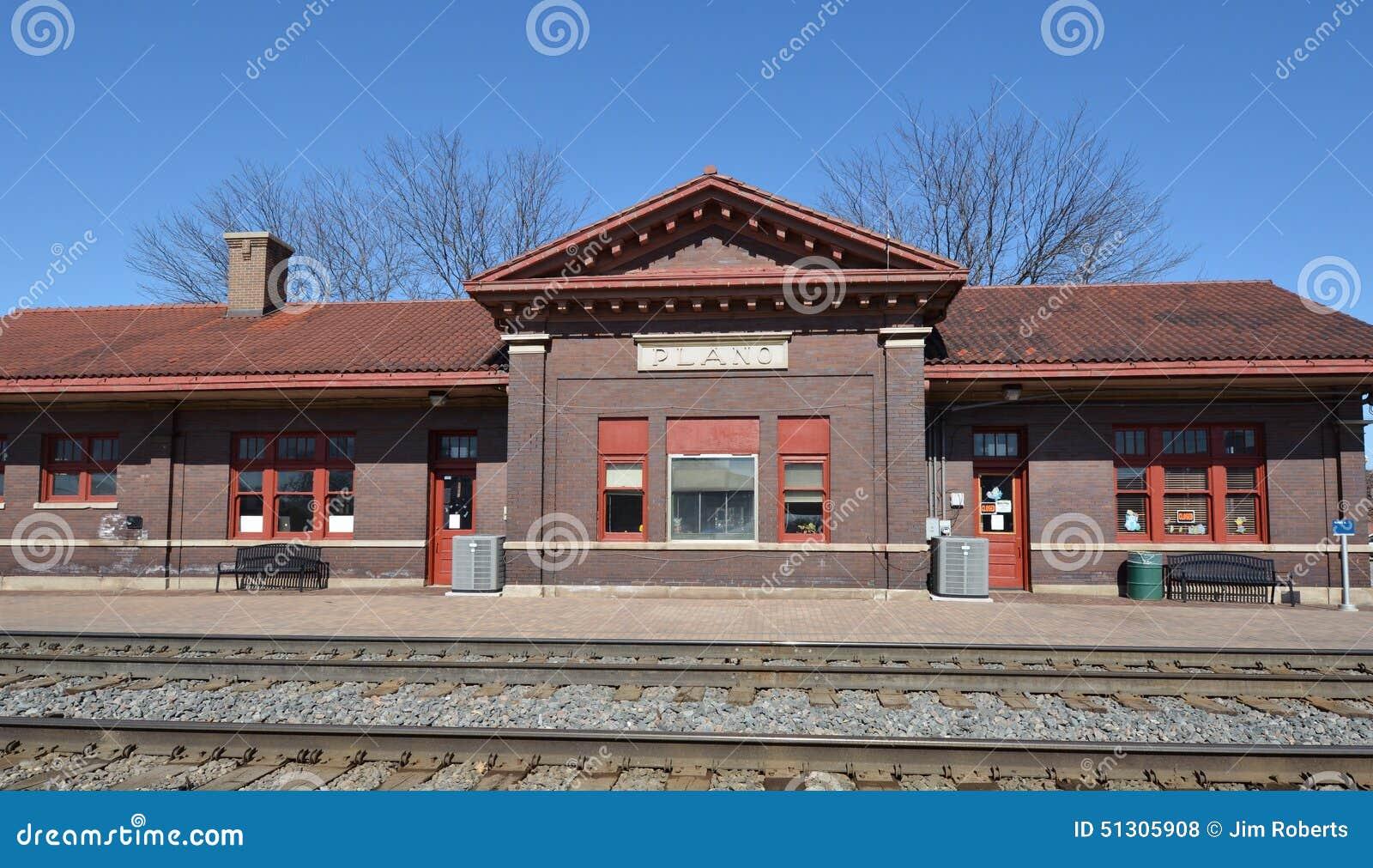普莱诺铁路集中处