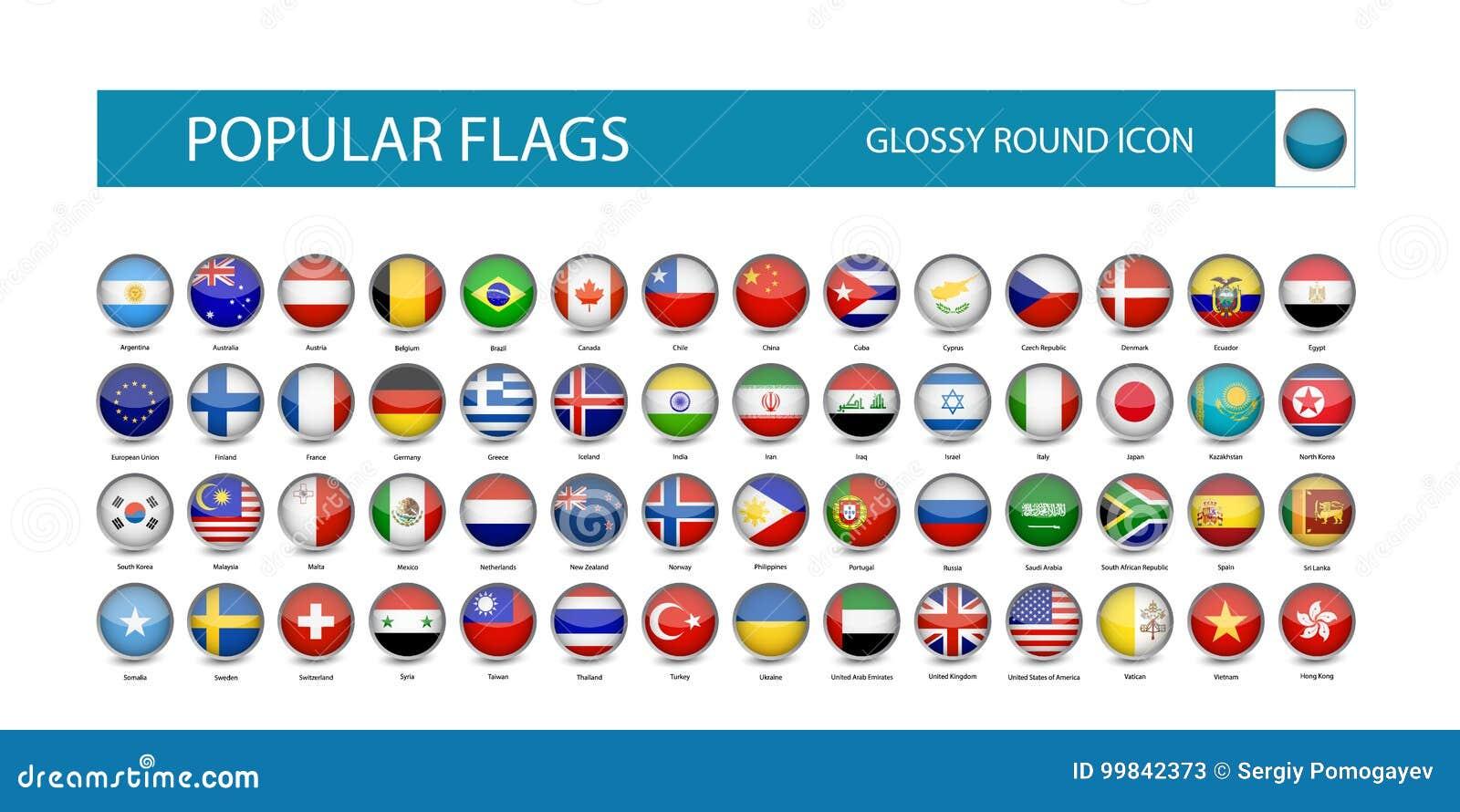 普遍的旗子光滑的圆的象