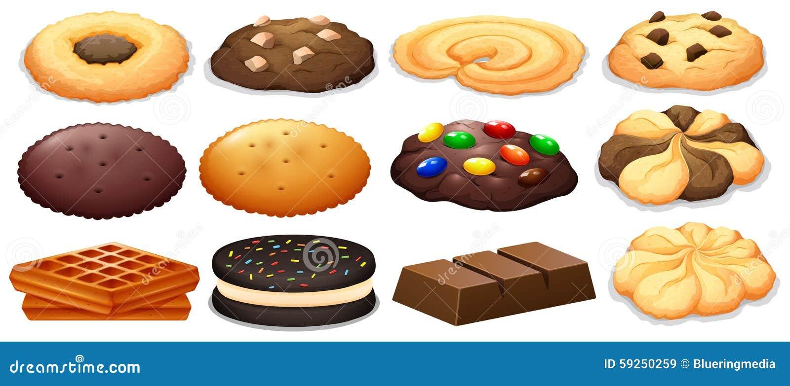 曲奇饼和巧克力块