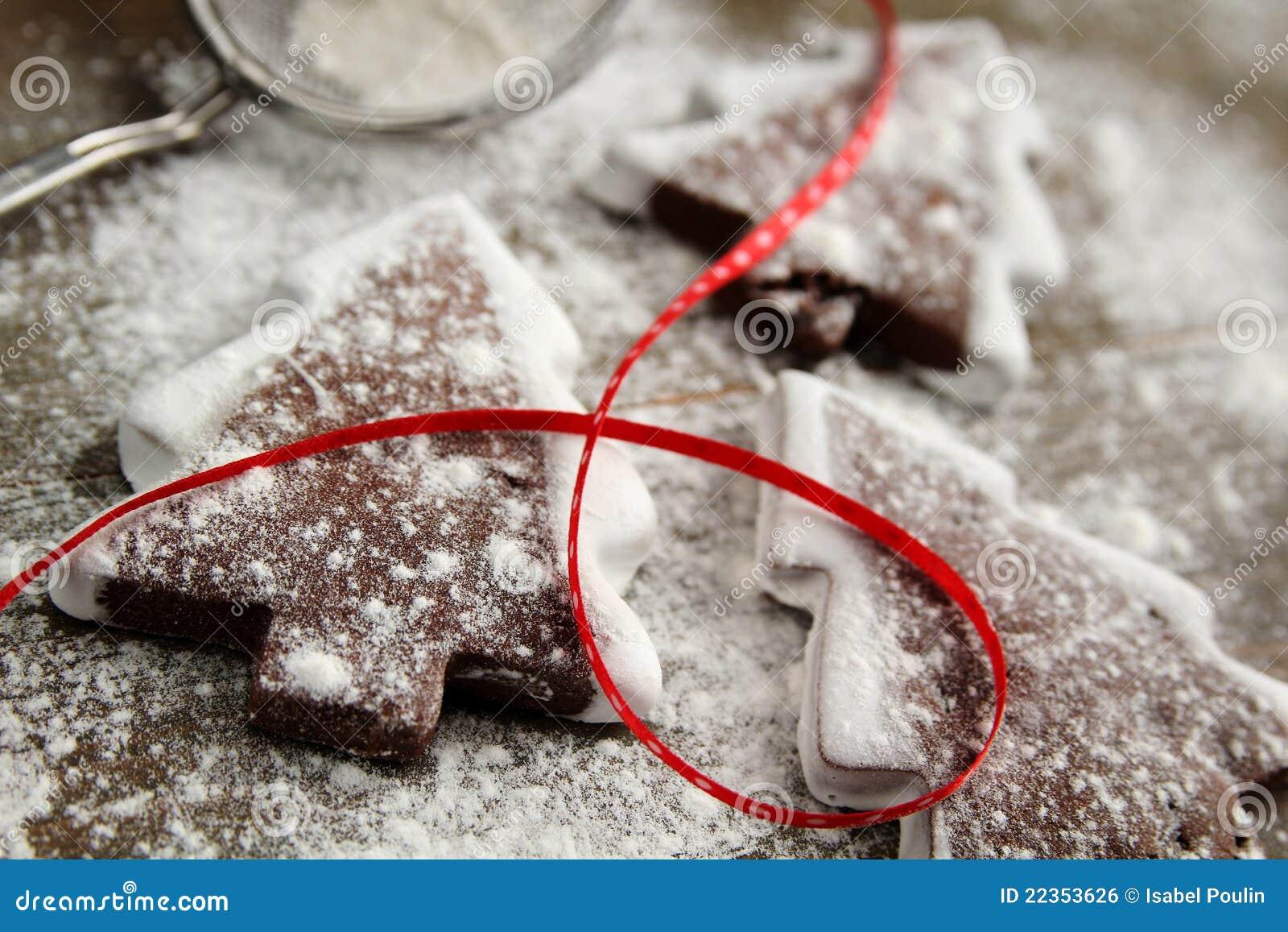 曲奇饼糖粉