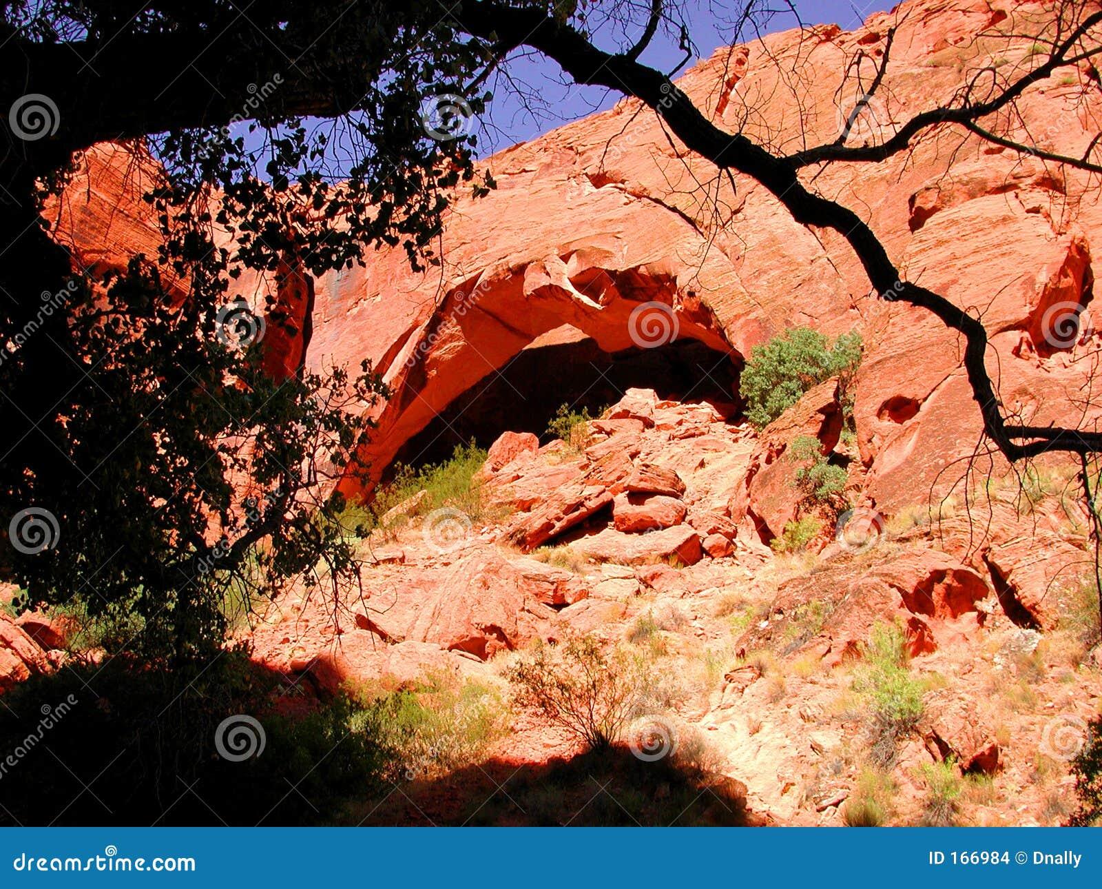 曲拱剪影结构树