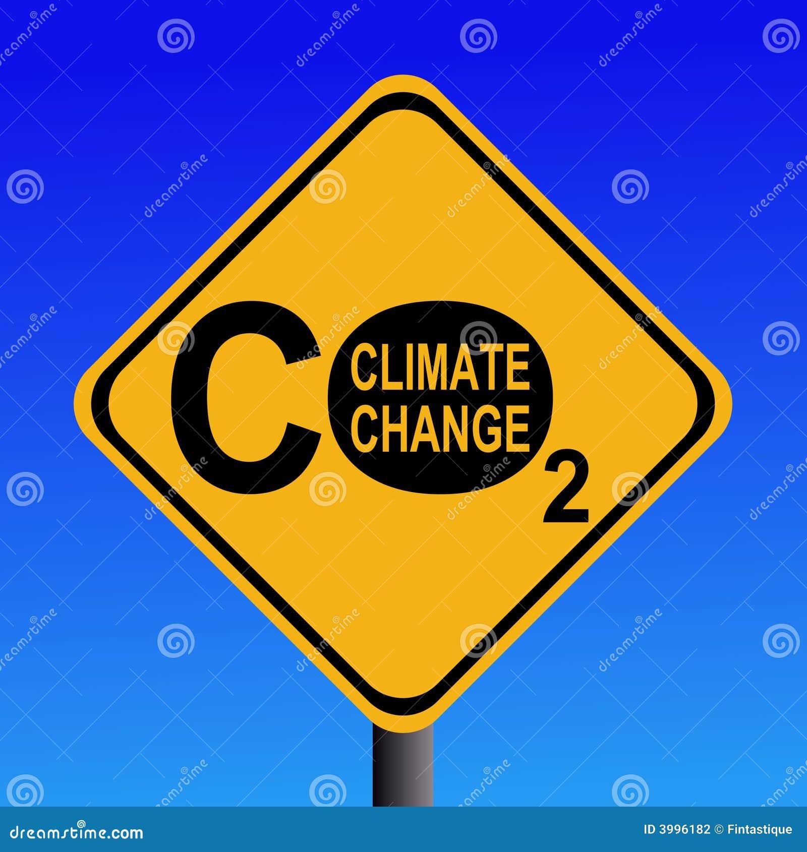 更改气候二氧化碳符号