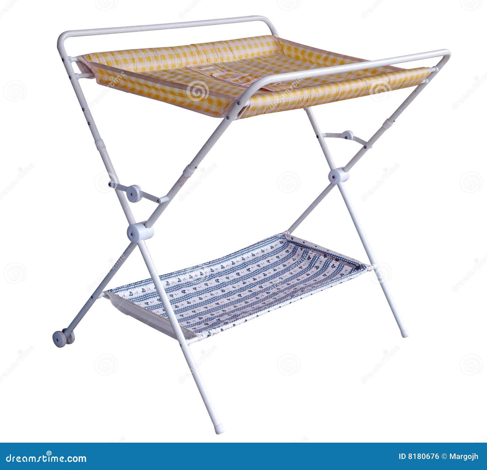 更改的尿布折叠式小桌