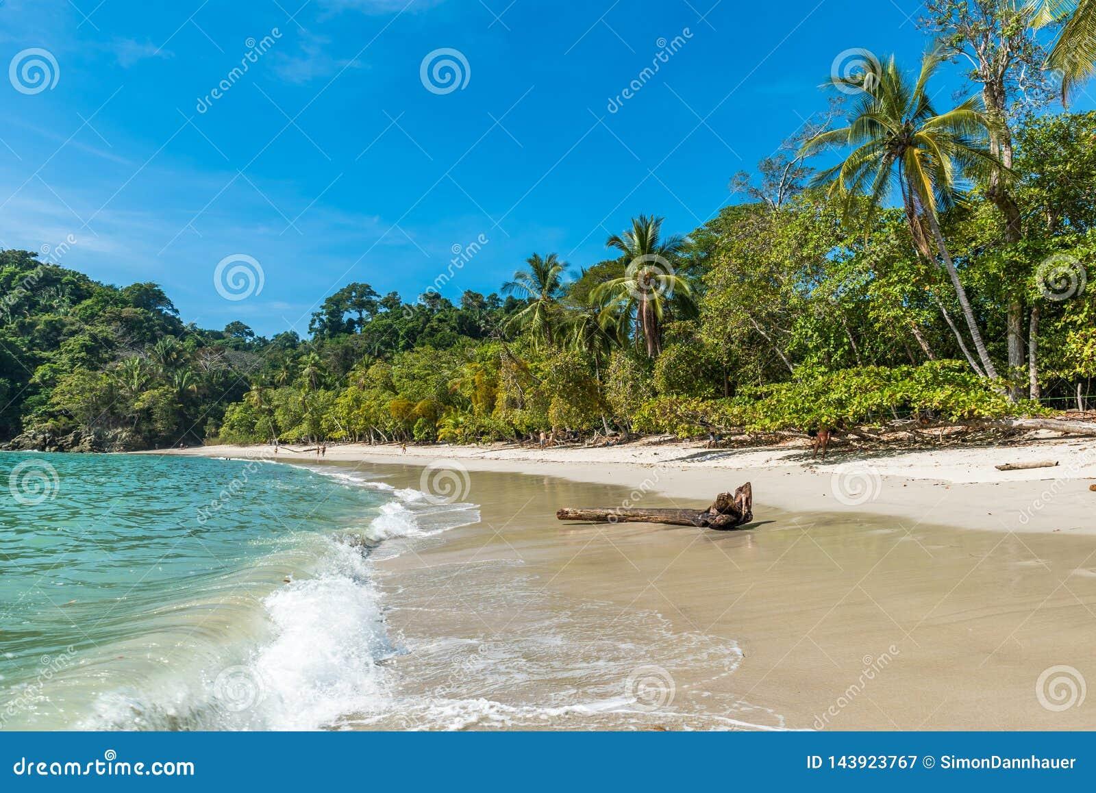曼努埃尔・安东尼奥,哥斯达黎加-美丽的热带海滩