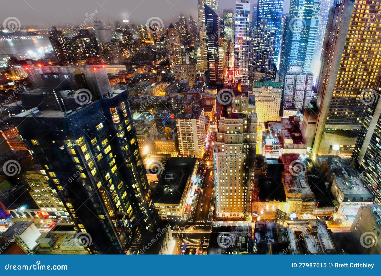 曼哈顿在晚上之前