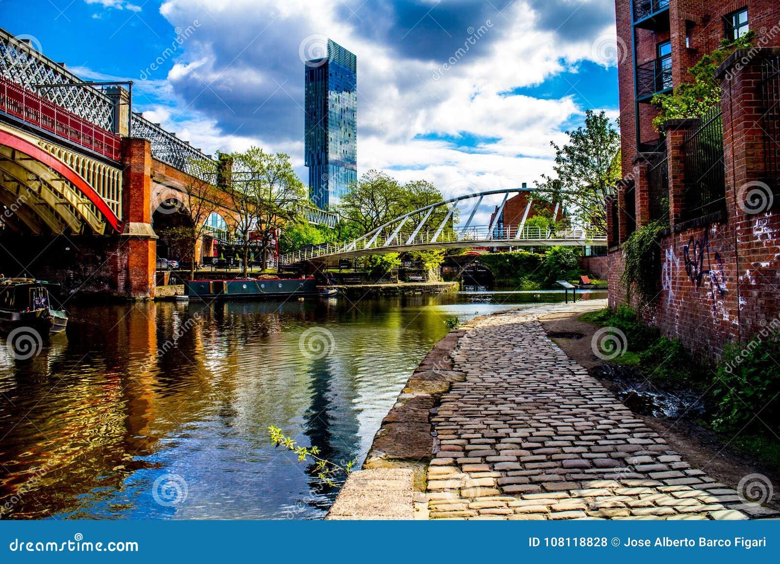 曼彻斯特运河英国英国