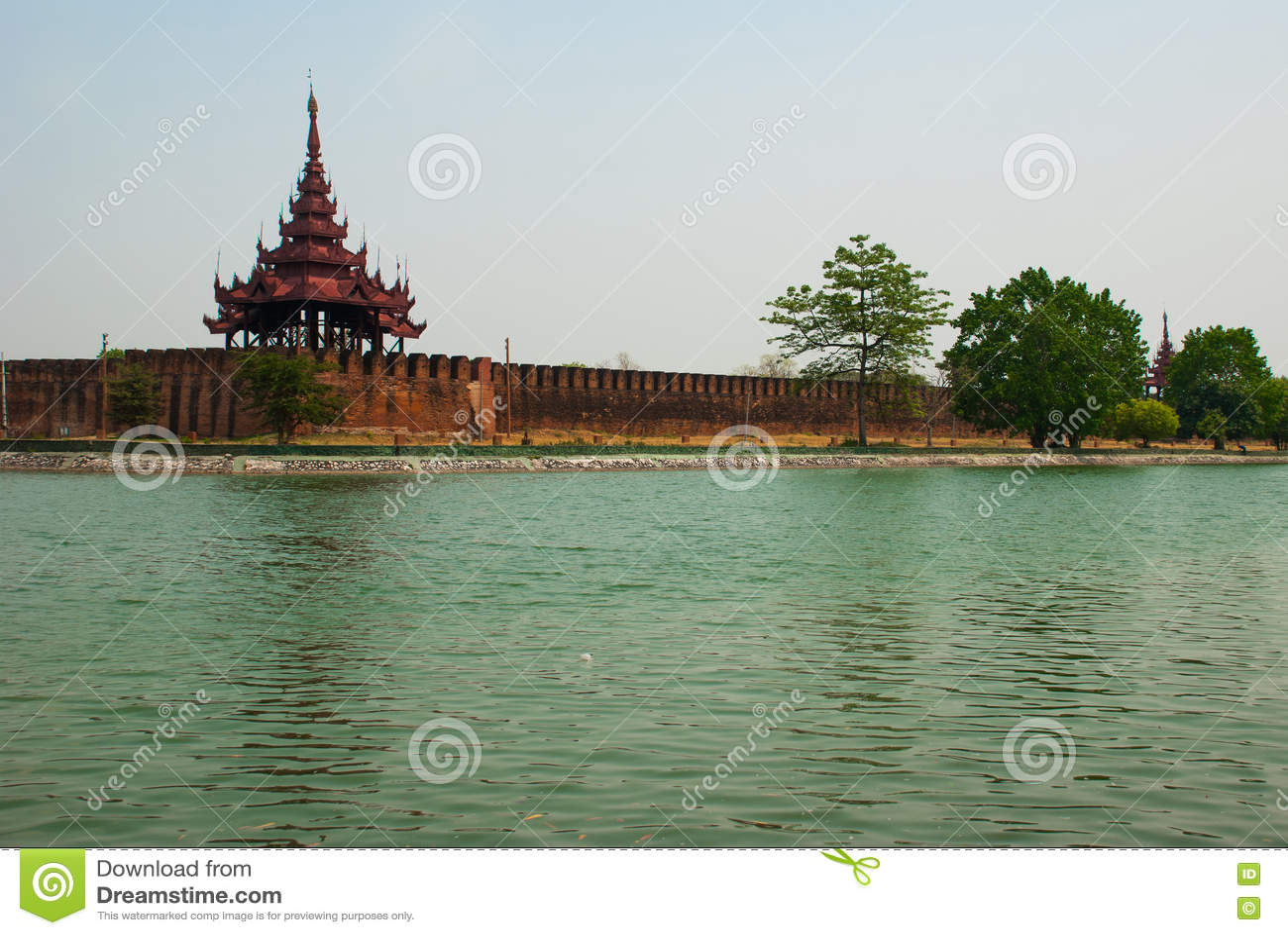 曼德勒王宫缅甸的