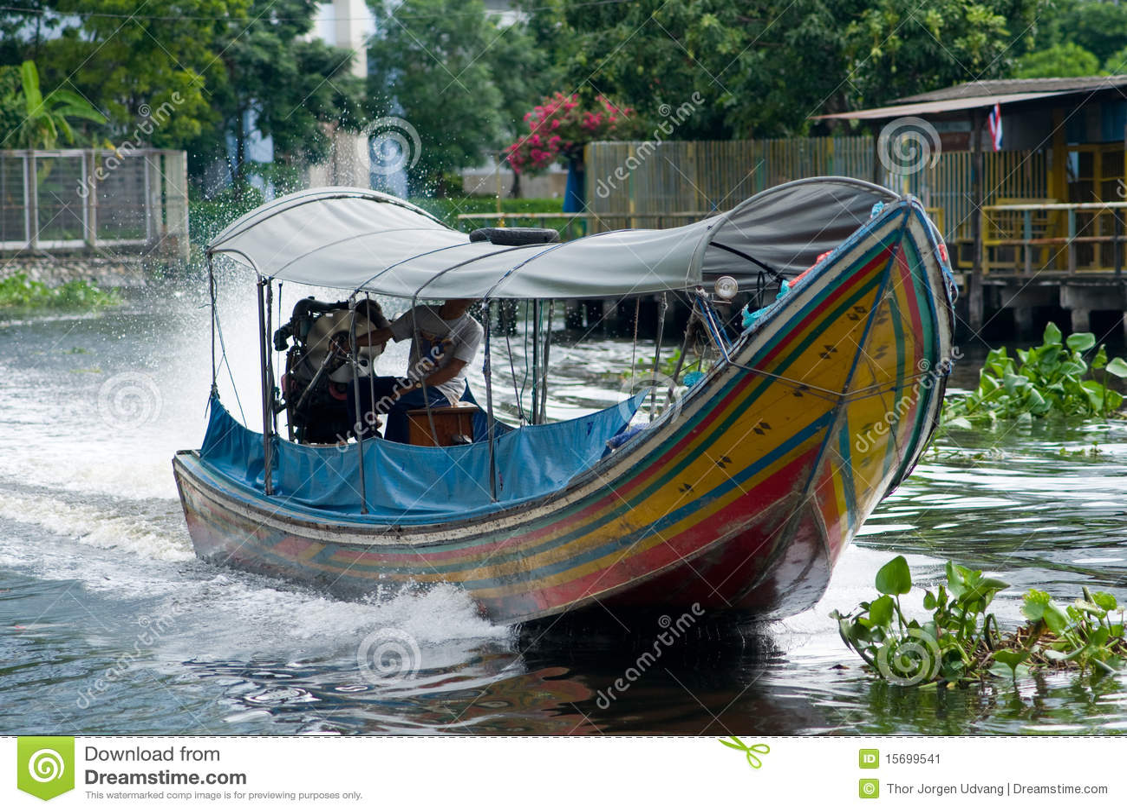 Download 曼谷小船运河longtail泰国 库存图片. 图片 包括有 旅游业, 小船, 绿色, 泰国, 运输, 城市 - 15699541