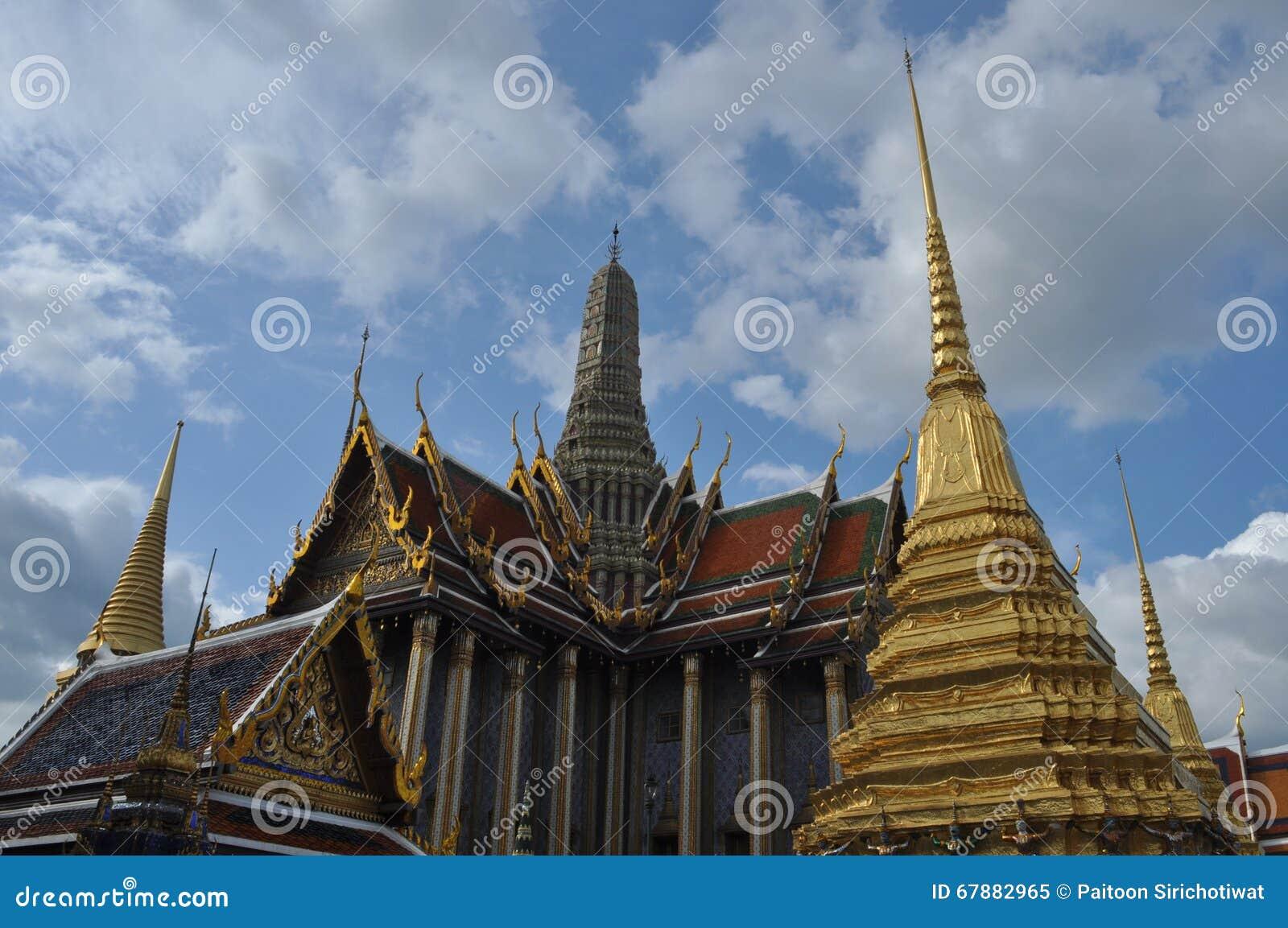 曼谷玉佛寺在曼谷,泰国皇家