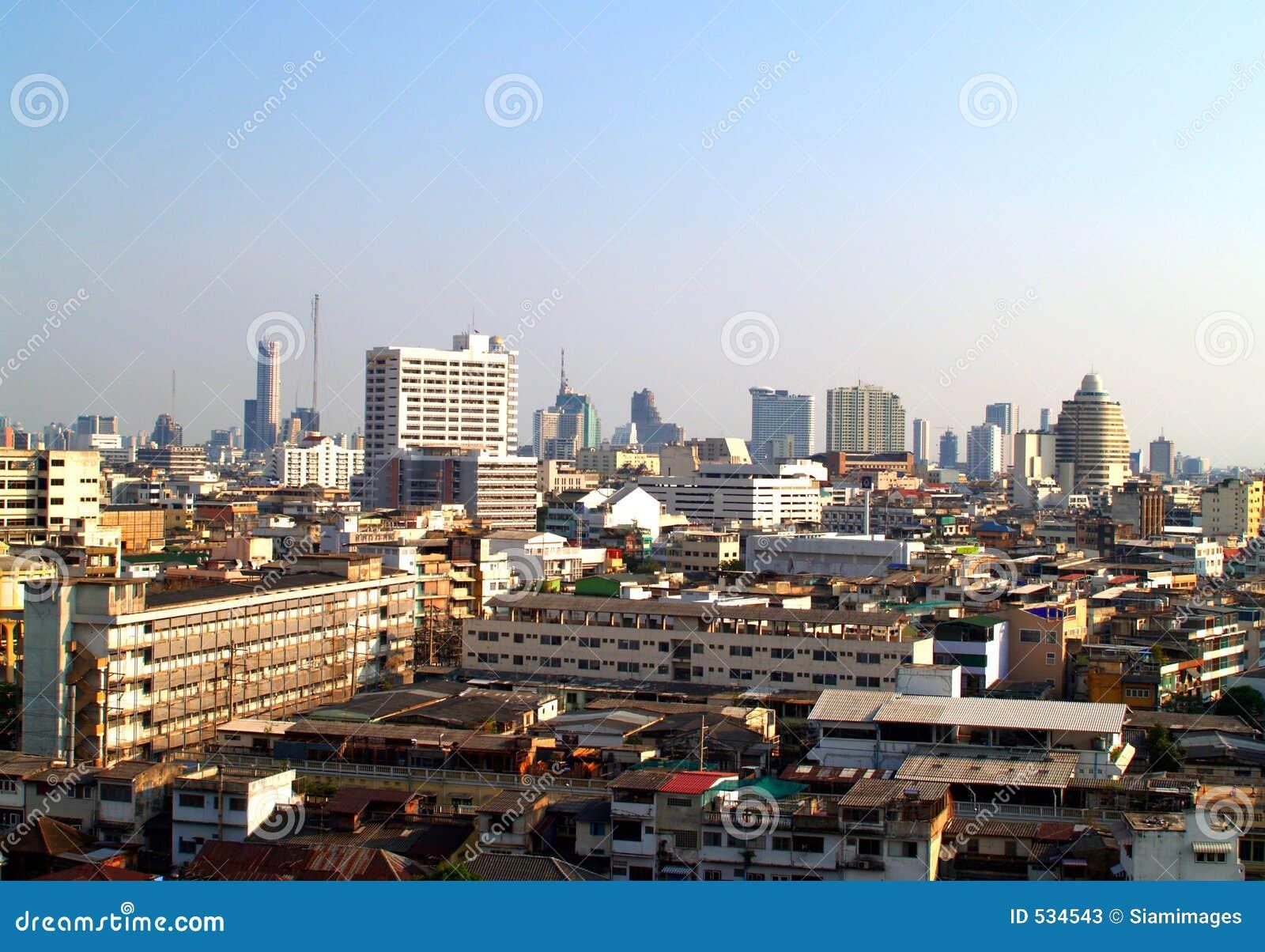 Download 曼谷视图 库存图片. 图片 包括有 摩天大楼, 拱道, 资本, 运输, 城市, 地平线, 轰隆的, 天空, 视图 - 534543